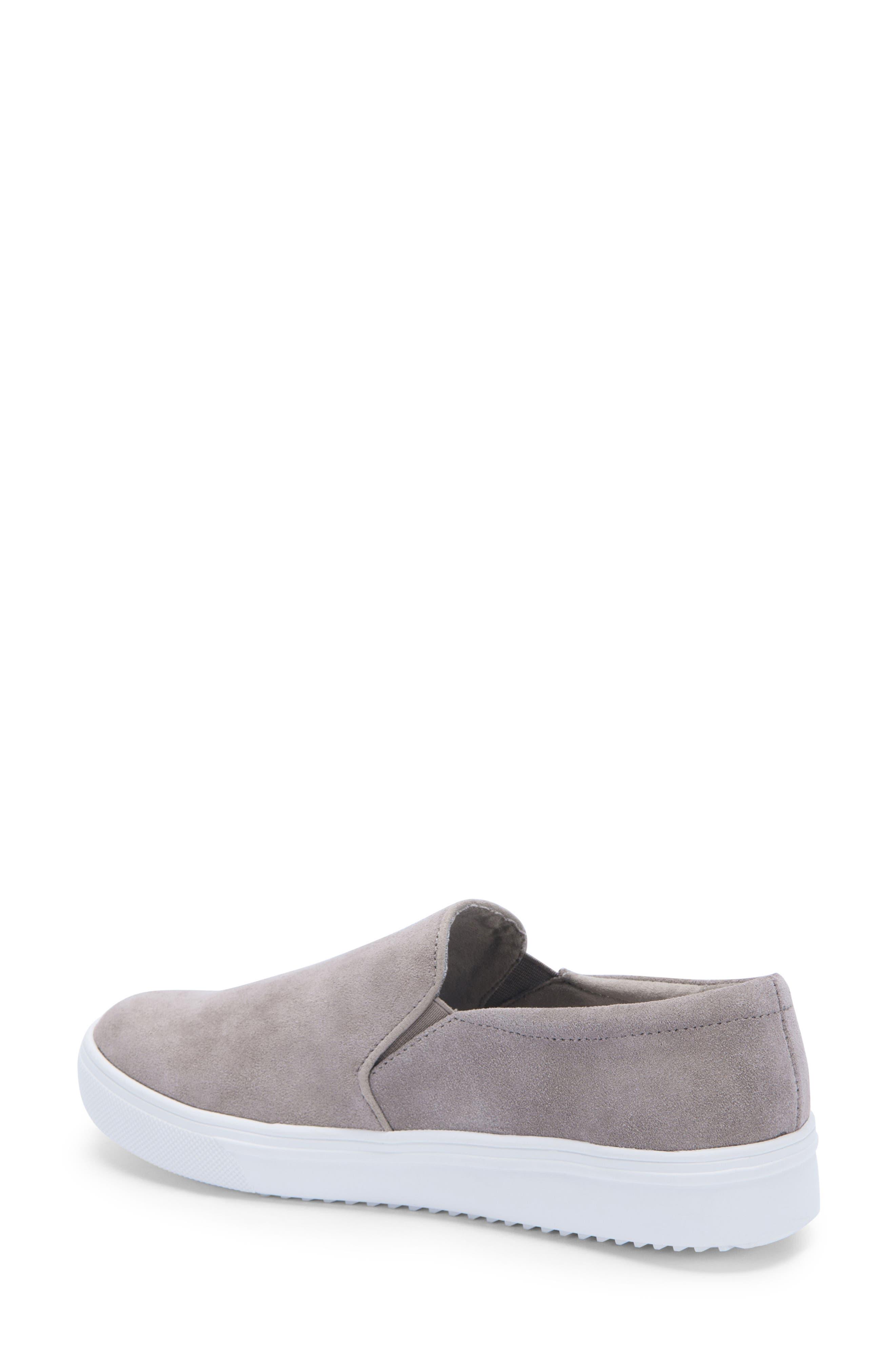 BLONDO, Gracie Waterproof Slip-On Sneaker, Alternate thumbnail 2, color, MUSHROOM SUEDE