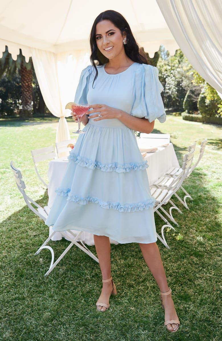 Rachel Parcell Ruffle Sleeve Dress (Nordstrom Exclusive) | Nordstrom