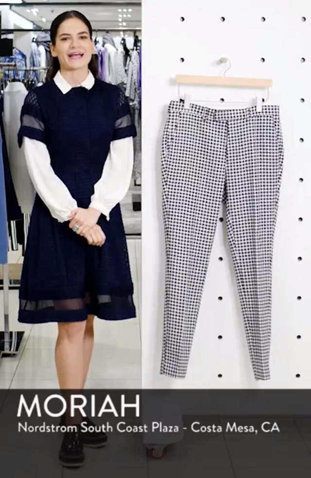 Roe Skinny Fit Trousers, sales video thumbnail