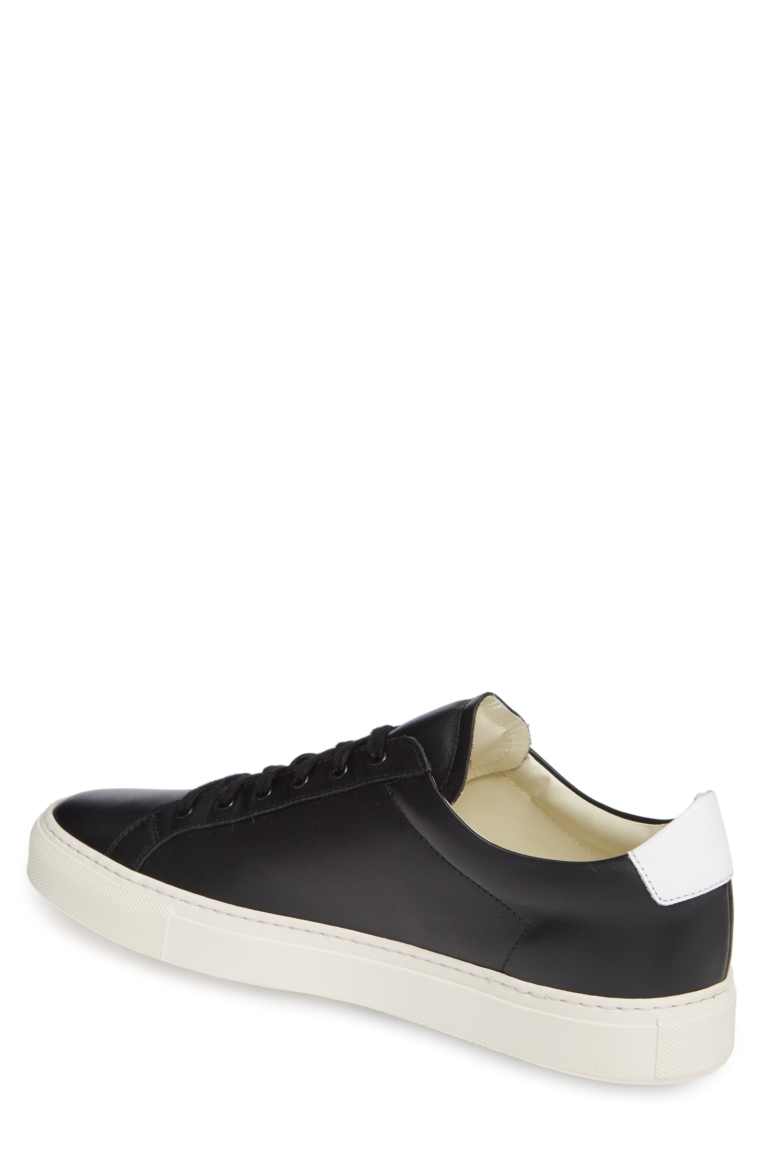 COMMON PROJECTS, Retro Sneaker, Alternate thumbnail 2, color, BLACK