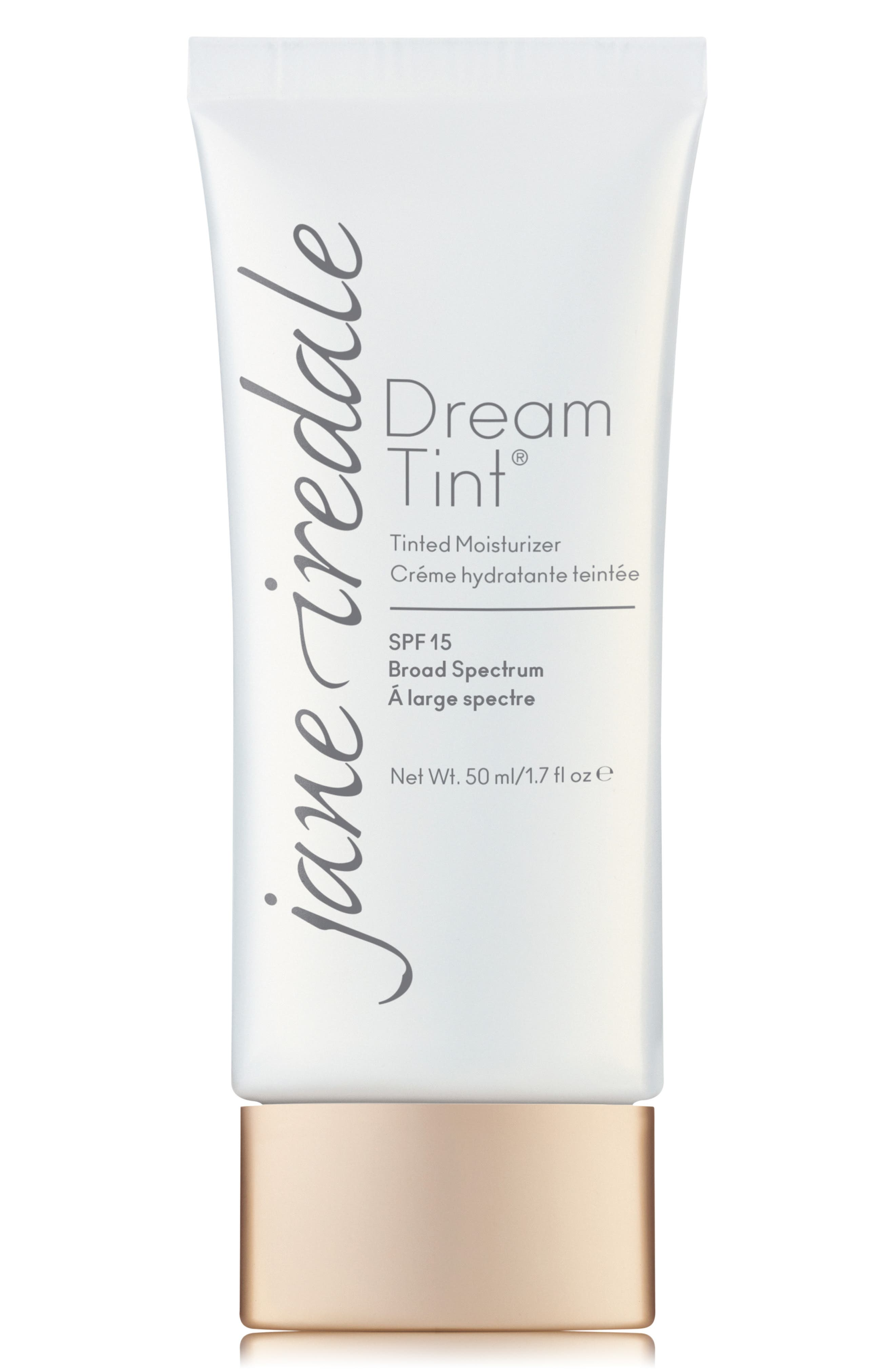 JANE IREDALE, Dream Tint Moisture Tint Broad Spectrum SPF 15, Main thumbnail 1, color, 02 MEDIUM LIGHT