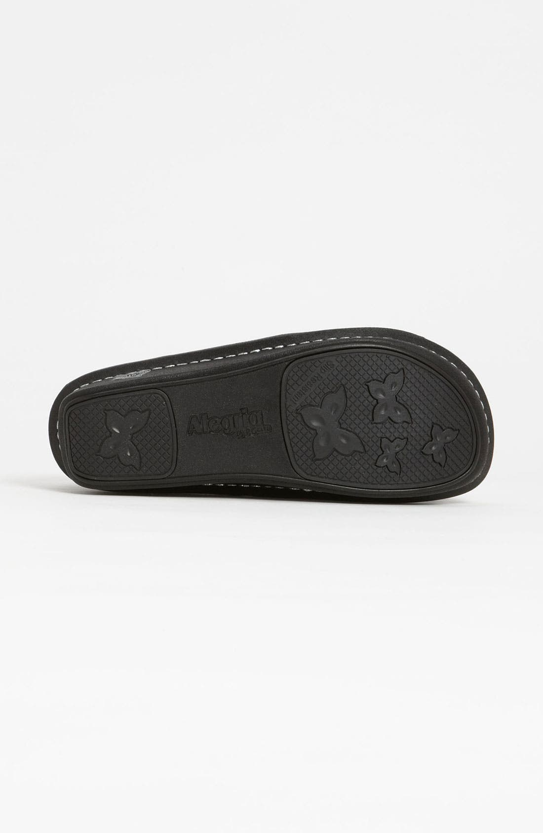ALEGRIA, 'Debra' Slip-On, Alternate thumbnail 2, color, BLACK EMBOSSED ROSE LEATHER