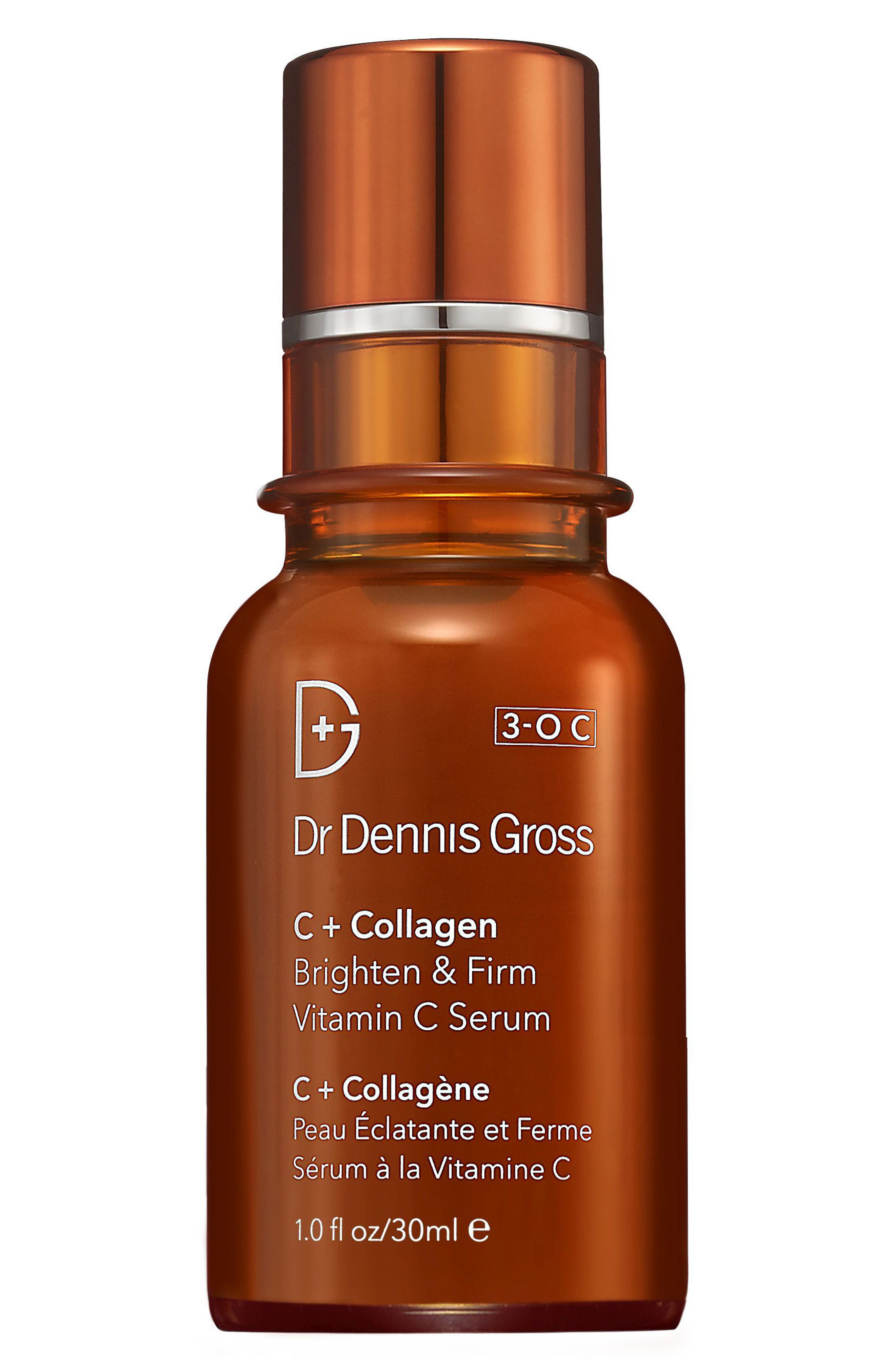 DR. DENNIS GROSS SKINCARE, C+ Collagen Brighten & Firm Vitamin C Serum, Main thumbnail 1, color, NO COLOR