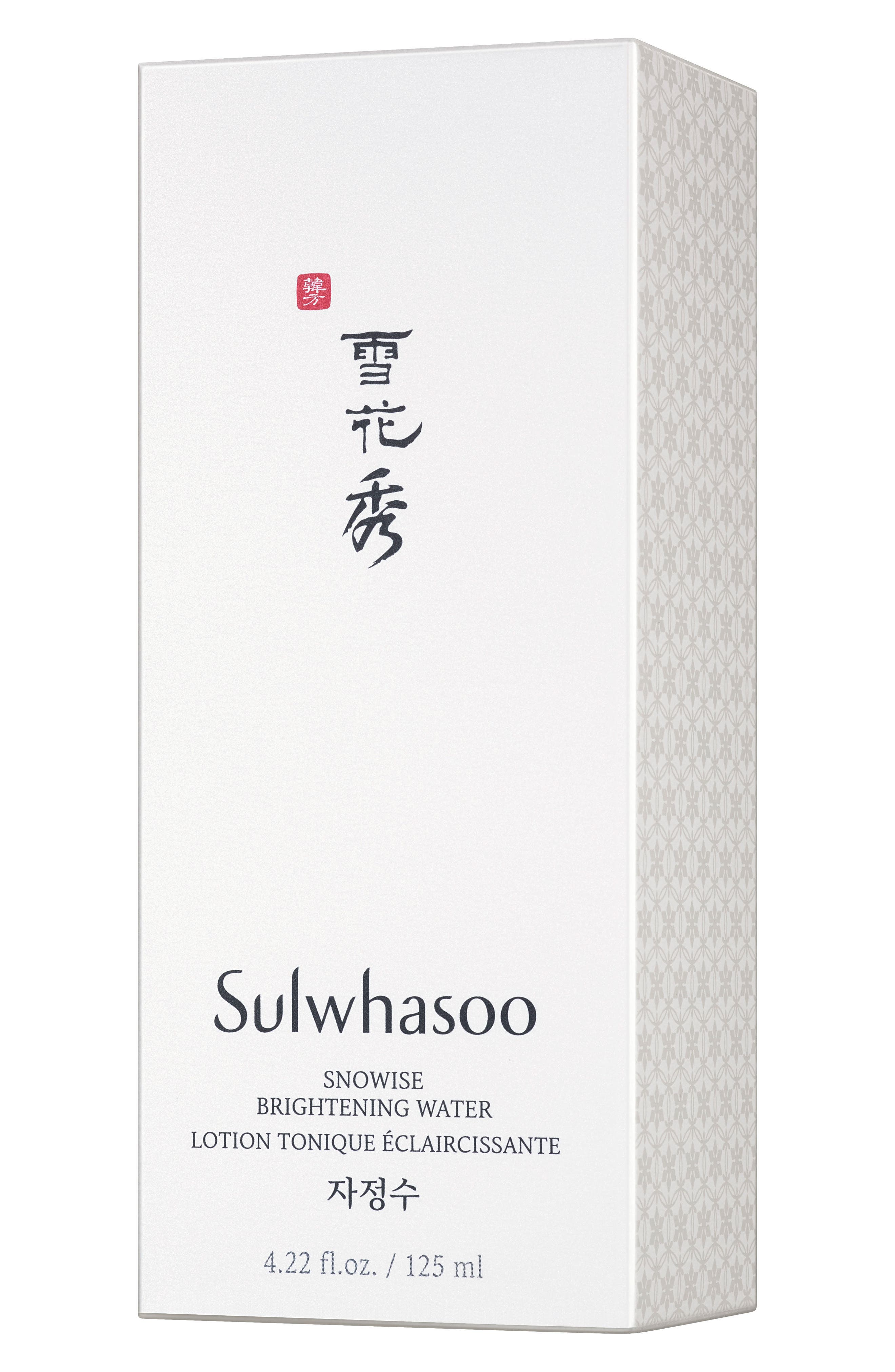 SULWHASOO, Snowise Brightening Water, Alternate thumbnail 3, color, NO COLOR