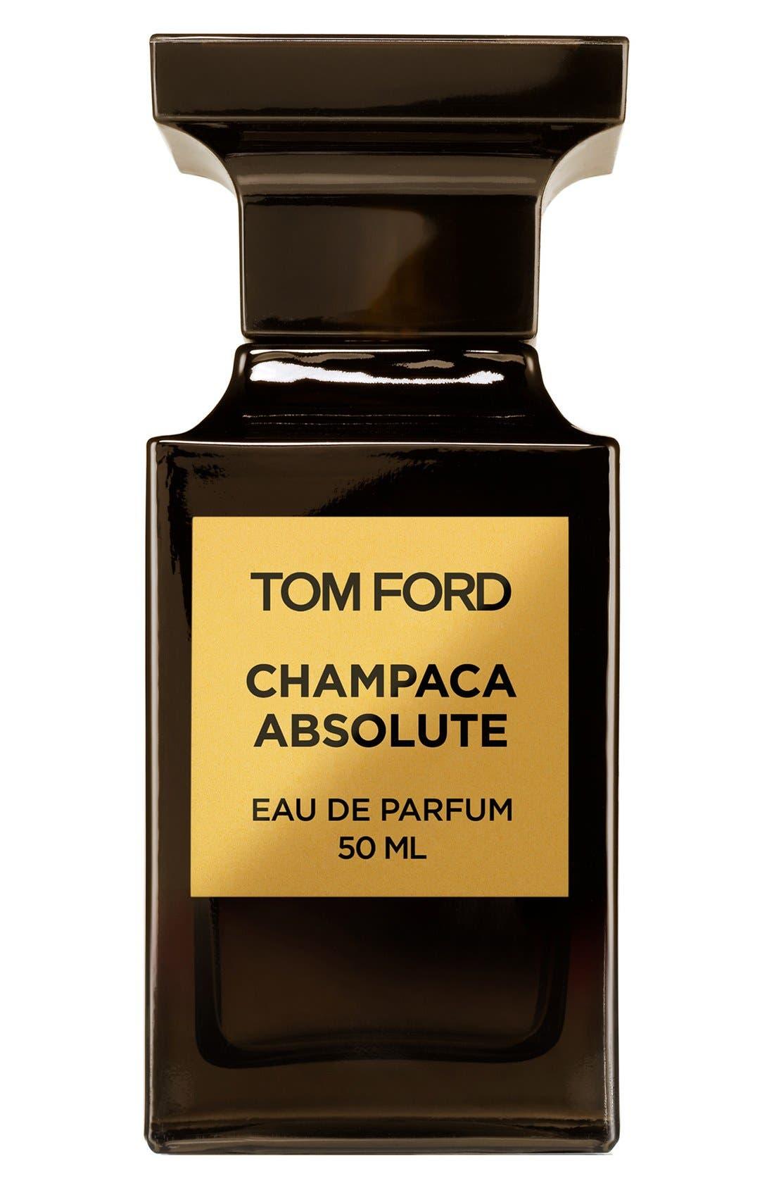 TOM FORD, Private Blend Champaca Absolute Eau de Parfum, Main thumbnail 1, color, NO COLOR