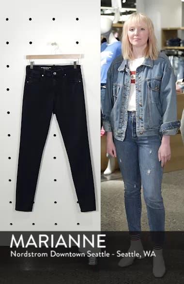 Farrah High Waist Ankle Skinny Jeans, sales video thumbnail