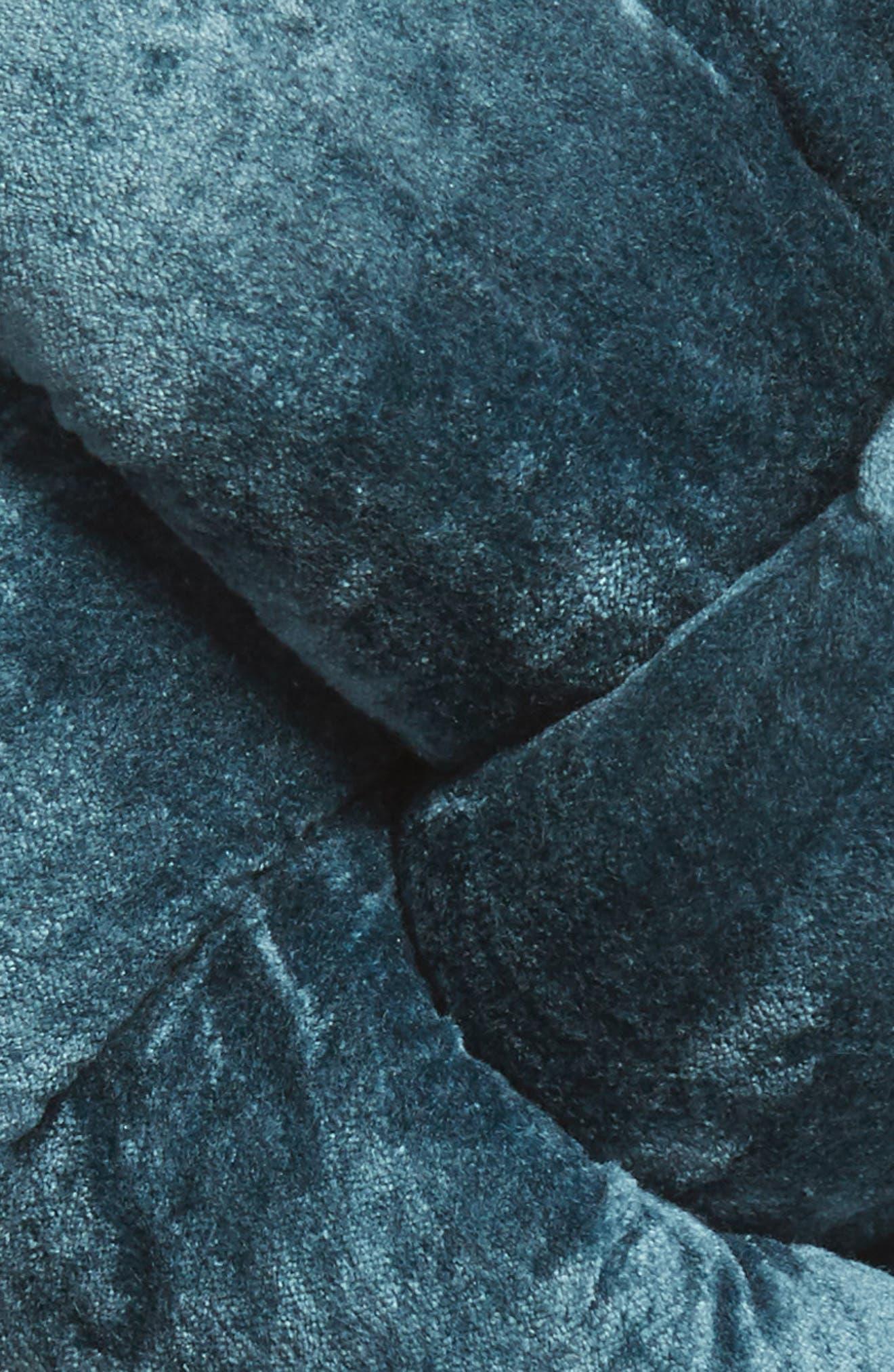 NORDSTROM AT HOME, Velvet Knot Accent Pillow, Alternate thumbnail 3, color, 440