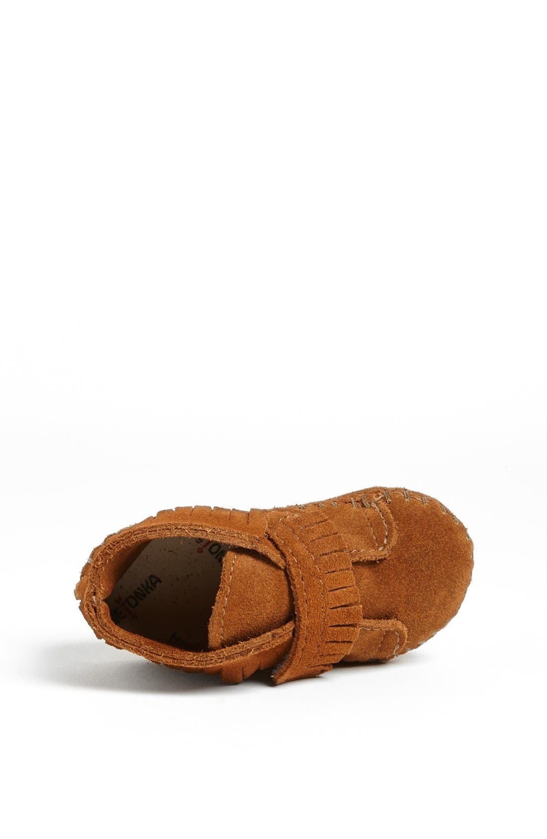 MINNETONKA, Bootie, Alternate thumbnail 3, color, BROWN