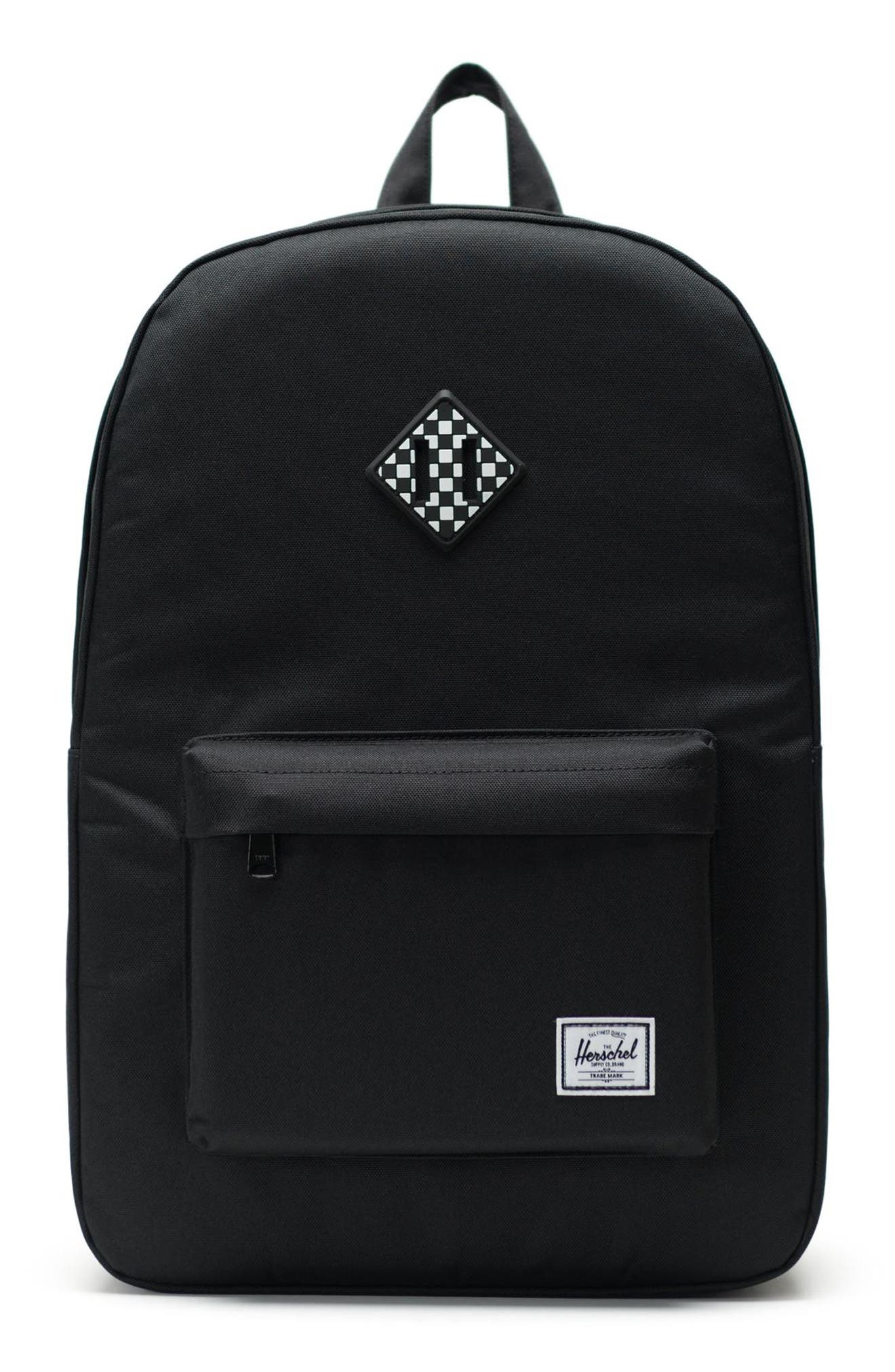 HERSCHEL SUPPLY CO., Heritage Print Backpack, Main thumbnail 1, color, 001