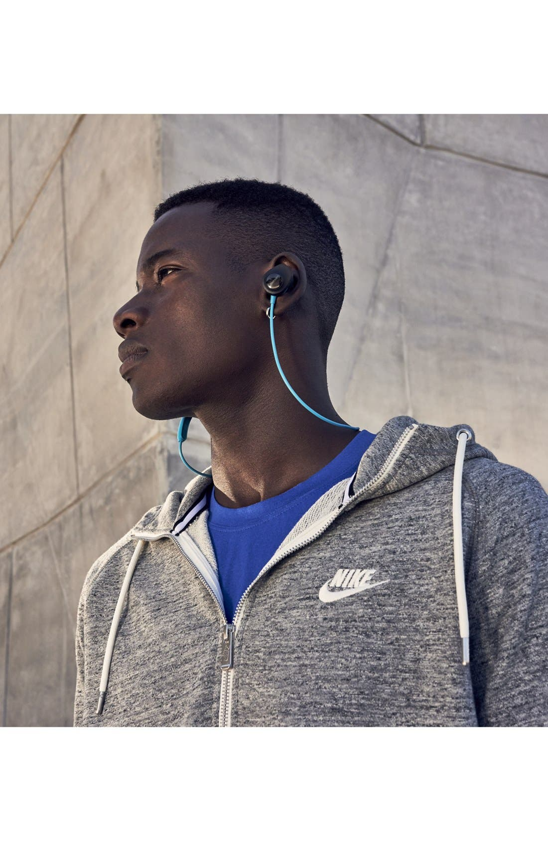 BOSE<SUP>®</SUP>, SoundSport<sup>®</sup> Wireless Headphones, Alternate thumbnail 6, color, AQUA