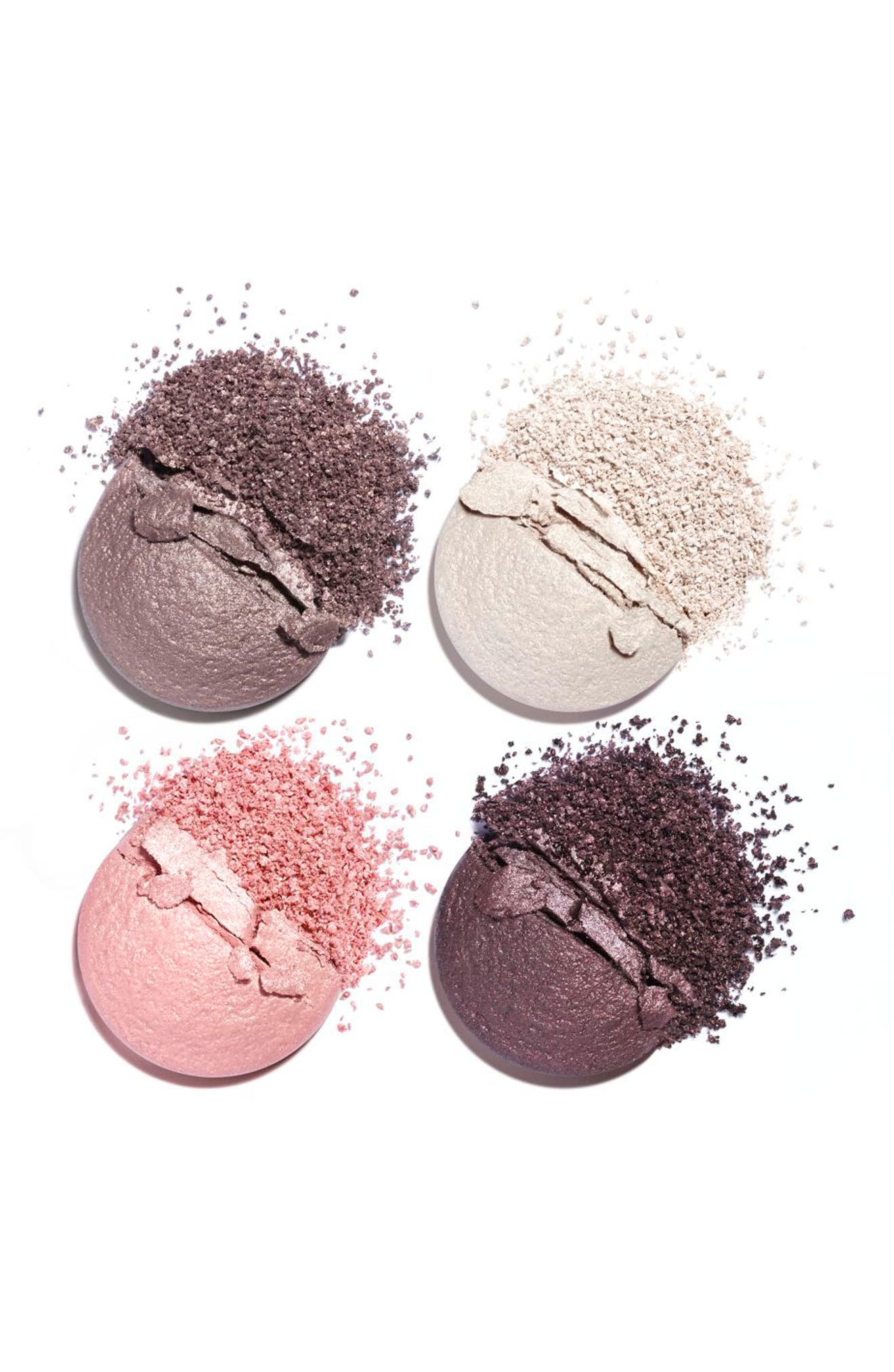 CHANEL, LES 4 OMBRES<br />Multi-Effect Quadra Eyeshadow, Alternate thumbnail 2, color, 202 TISSE CAMELIA