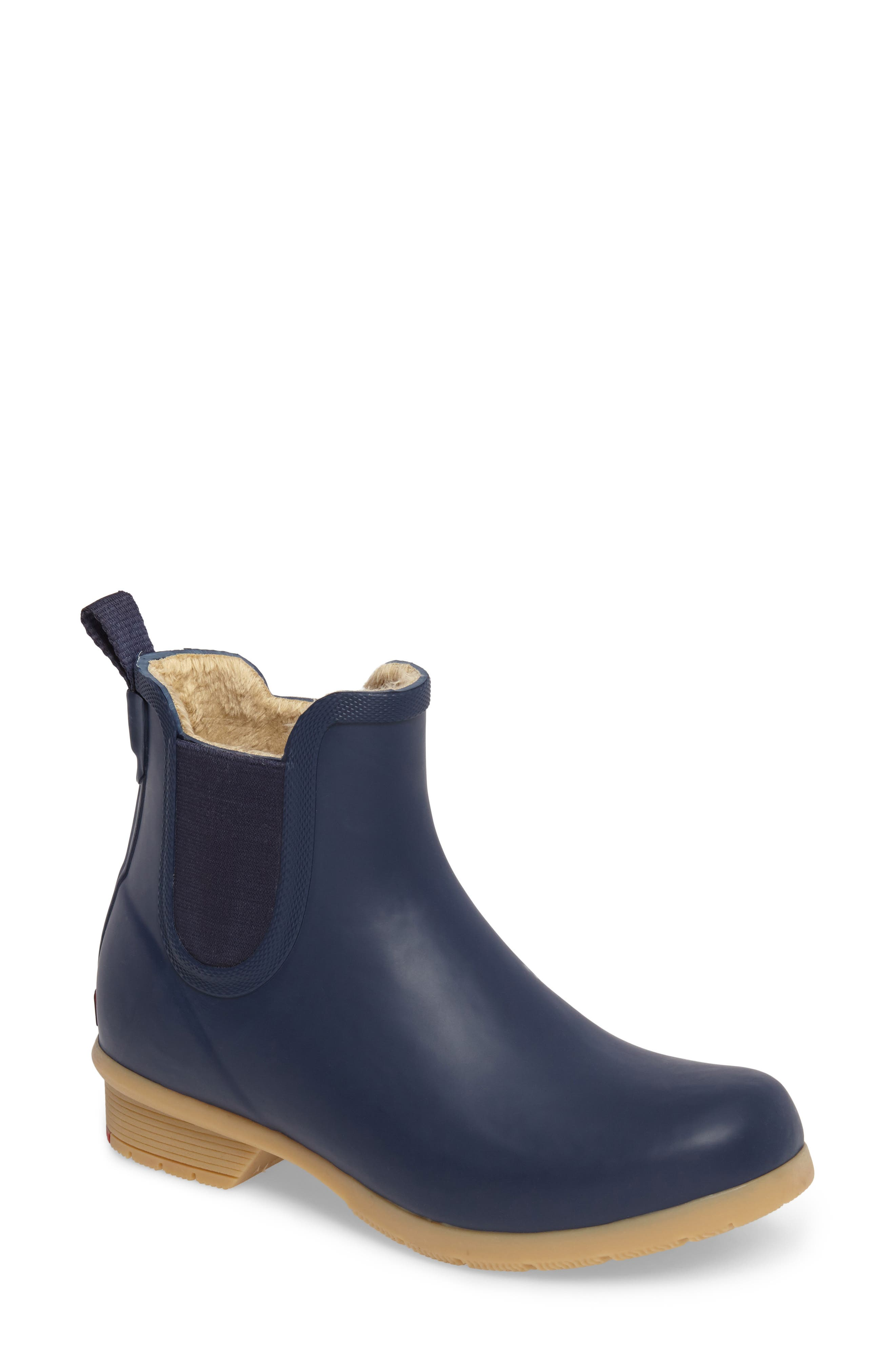 CHOOKA Bainbridge Chelsea Rain Boot, Main, color, NAVY