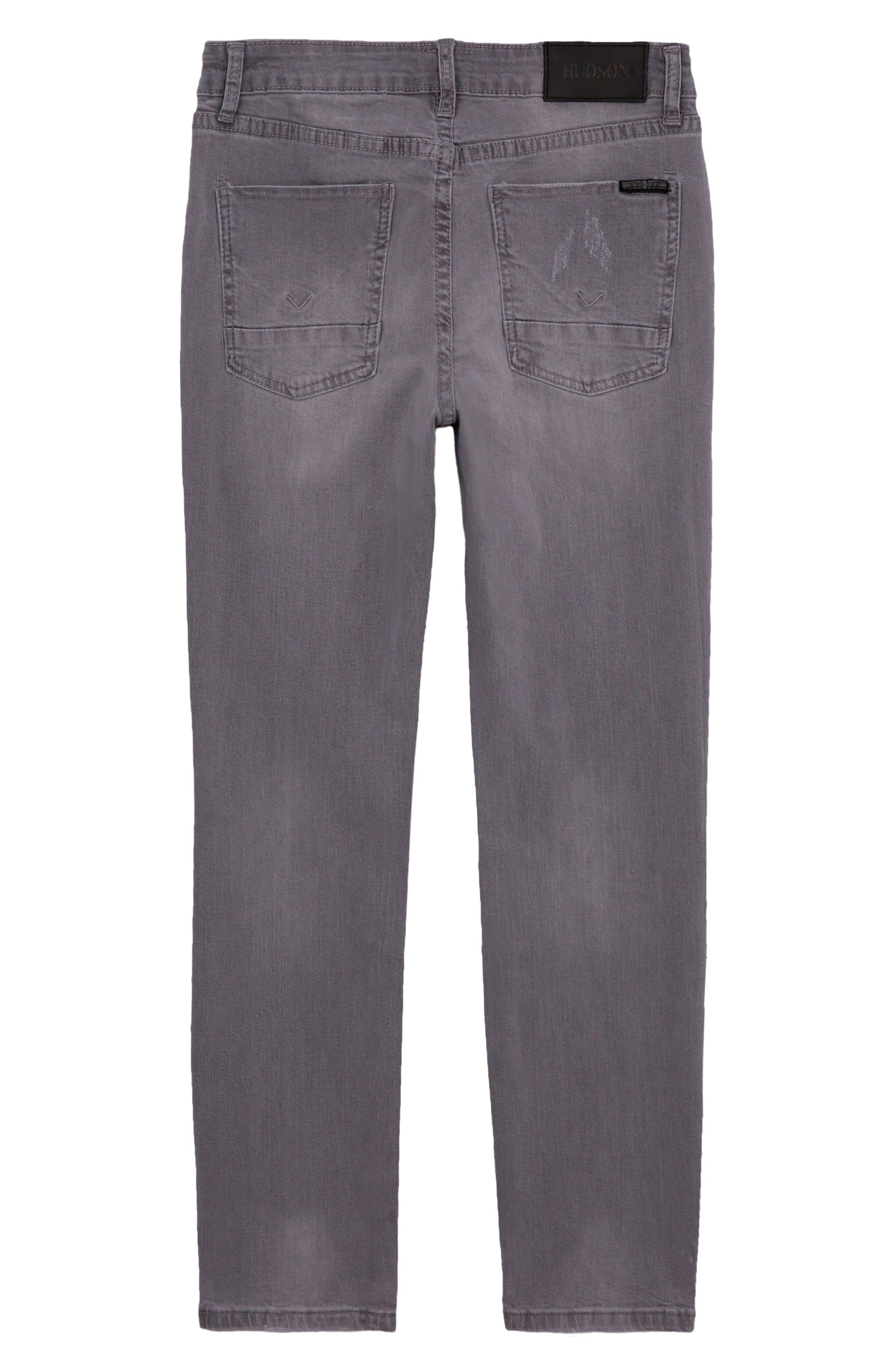 HUDSON KIDS, Straight Leg Jeans, Alternate thumbnail 2, color, 050