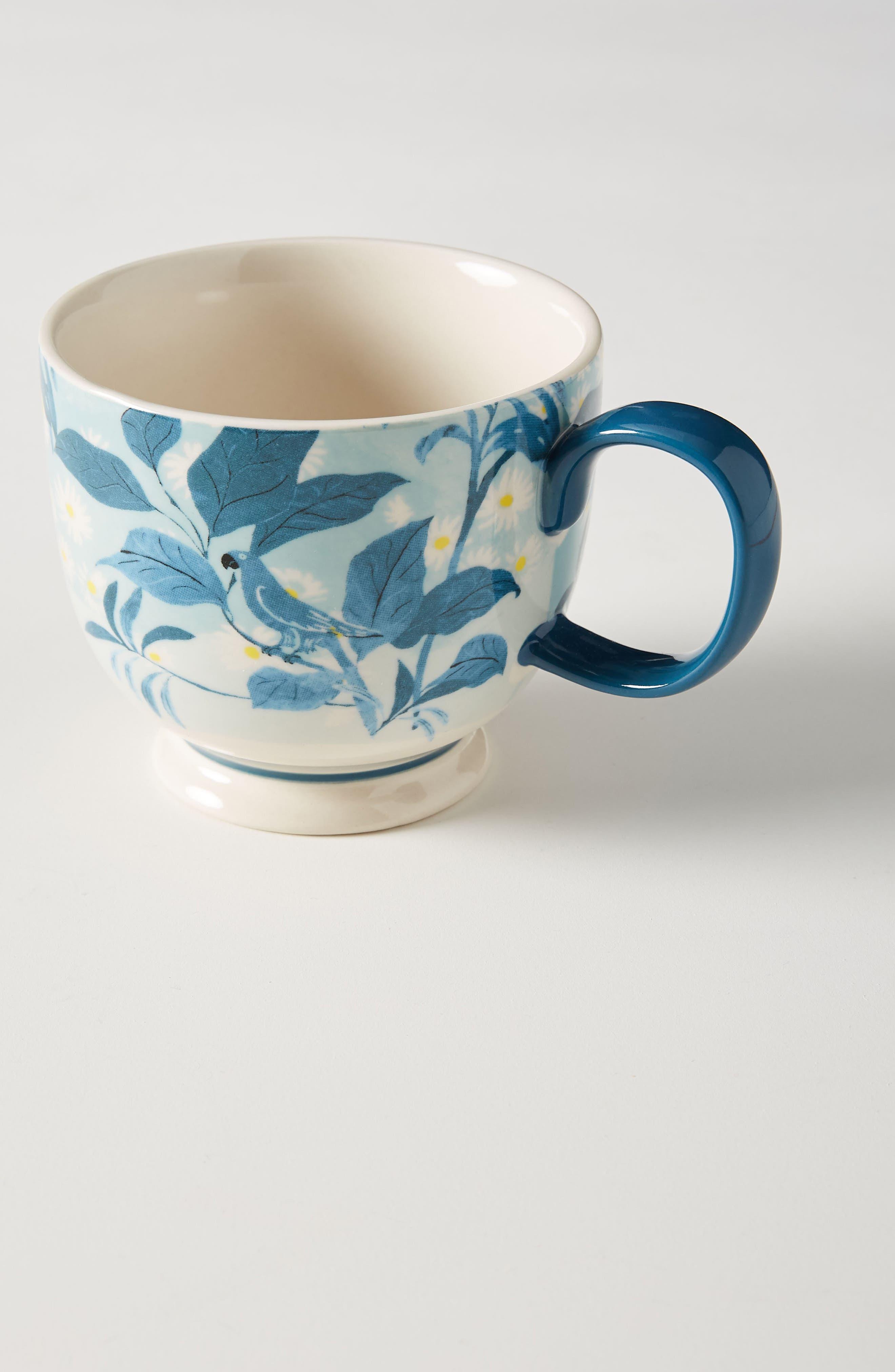 ANTHROPOLOGIE, Paule Marrot Set of 4 Mugs, Main thumbnail 1, color, COMBO C-BLUE