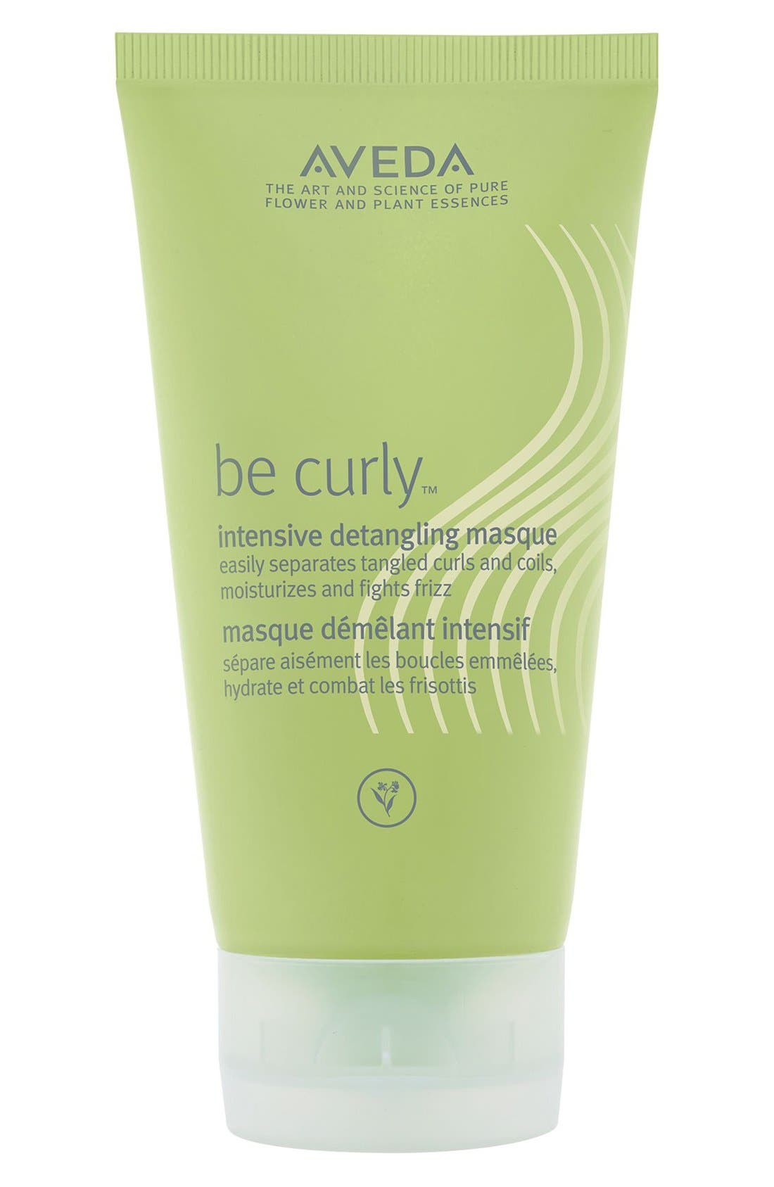 AVEDA be curly<sup>™</sup> Intensive Detangling Masque, Main, color, NO COLOR