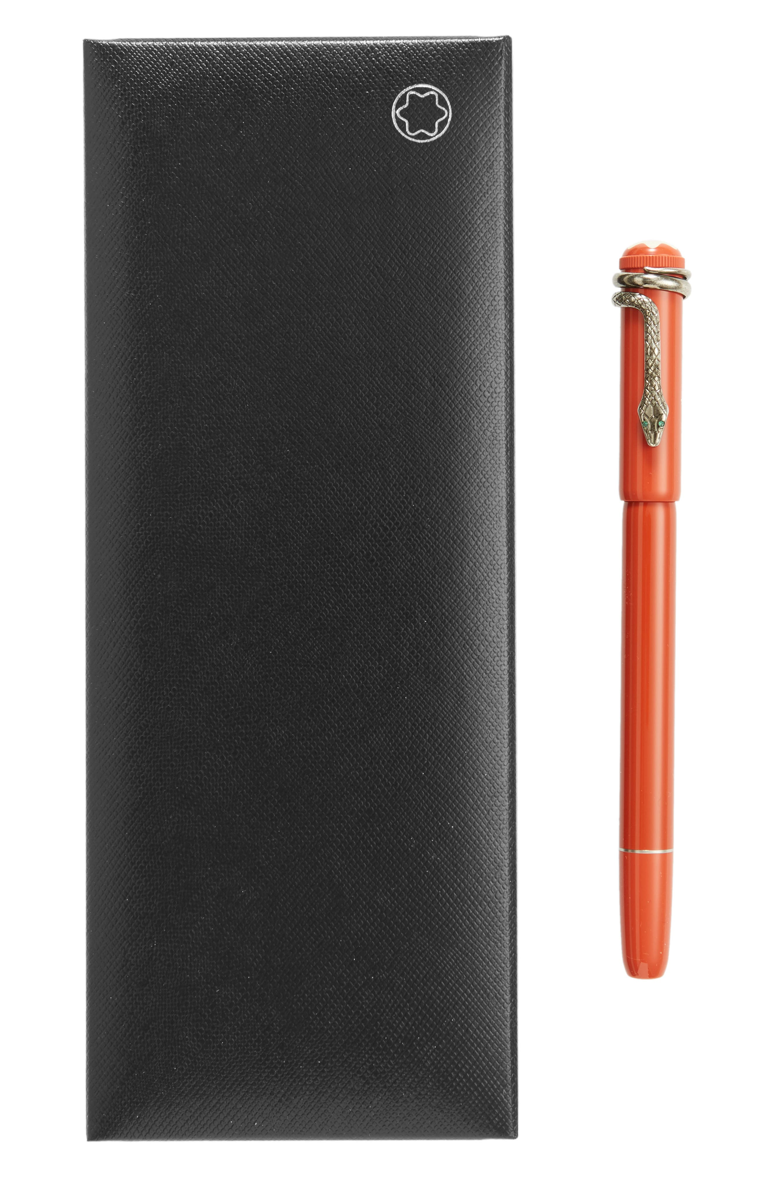 MONTBLANC, Heritage Collection Rouge et Noir Special Edition Coral Rollerball Pen, Alternate thumbnail 2, color, 600