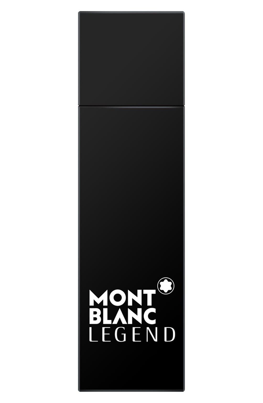 MONTBLANC, Legend Eau de Toilette Travel Spray, Main thumbnail 1, color, NO COLOR