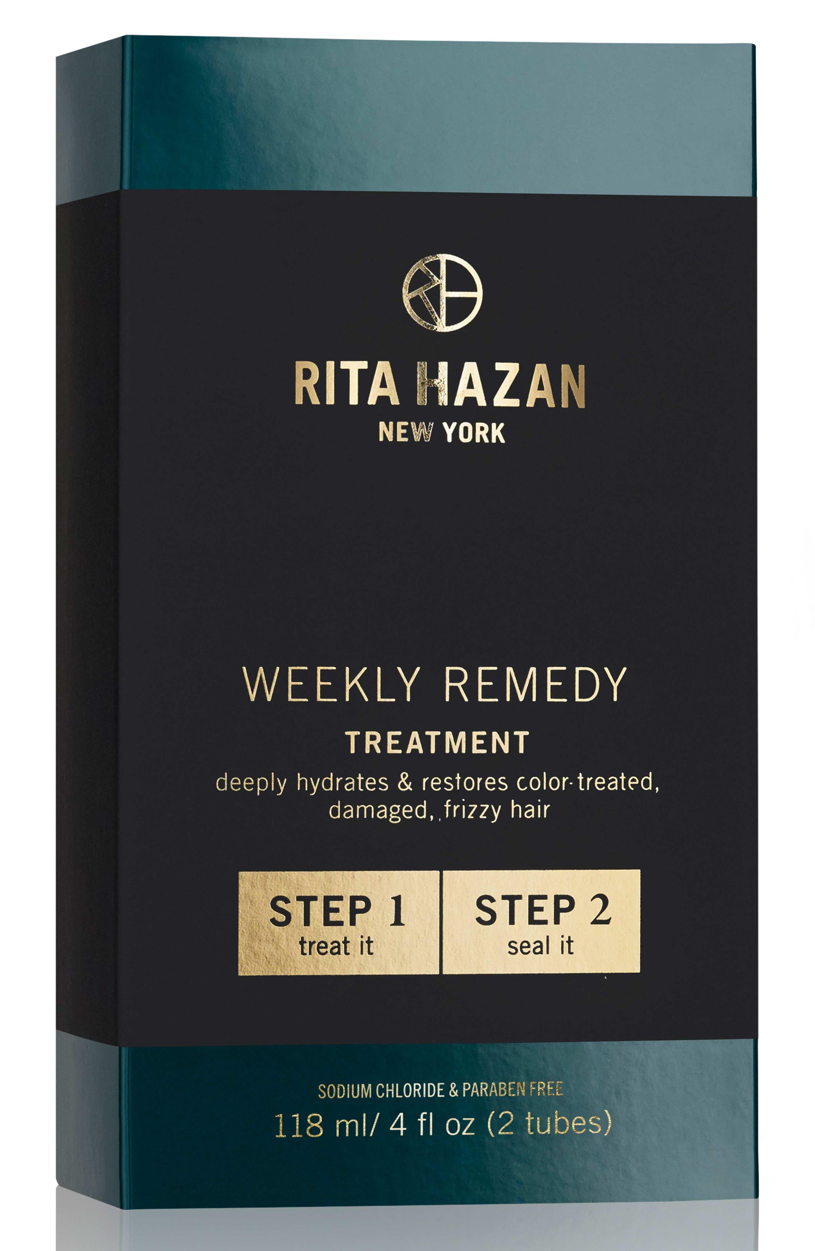 RITA HAZAN NEW YORK, Weekly Remedy Treatment, Alternate thumbnail 2, color, NO COLOR