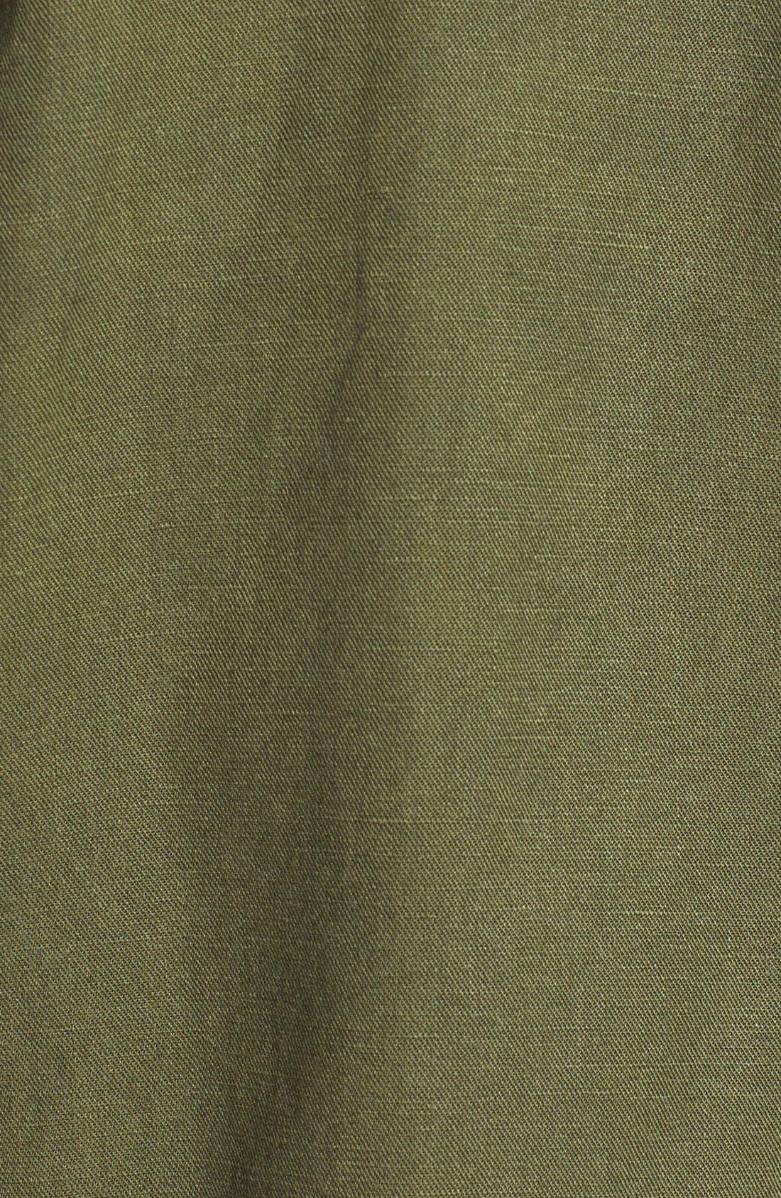EILEEN FISHER, Tencel<sup>®</sup> & Linen Bomber Jacket, Alternate thumbnail 2, color, 301