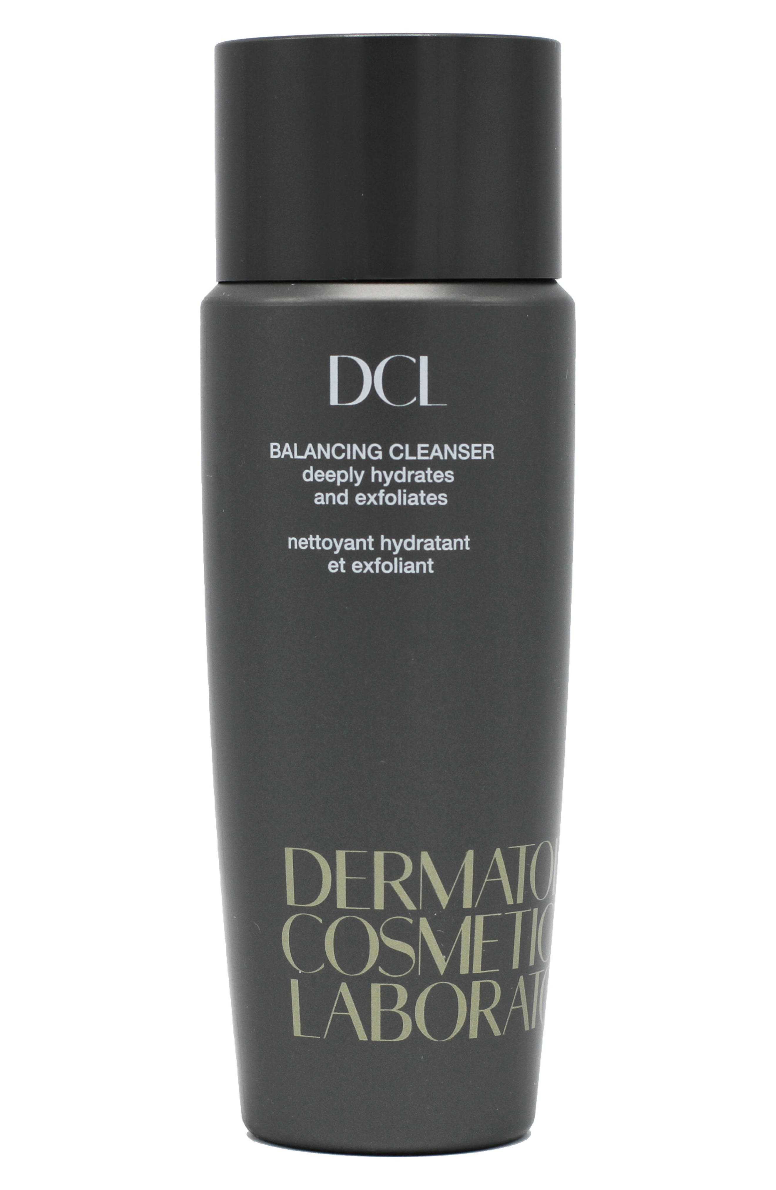 DERMATOLOGIC COSMETIC LABORATORIES, Balancing Cleanser, Main thumbnail 1, color, 000