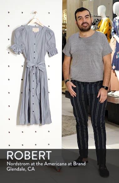 Daisy Cotton Dobby Shirtdress, sales video thumbnail