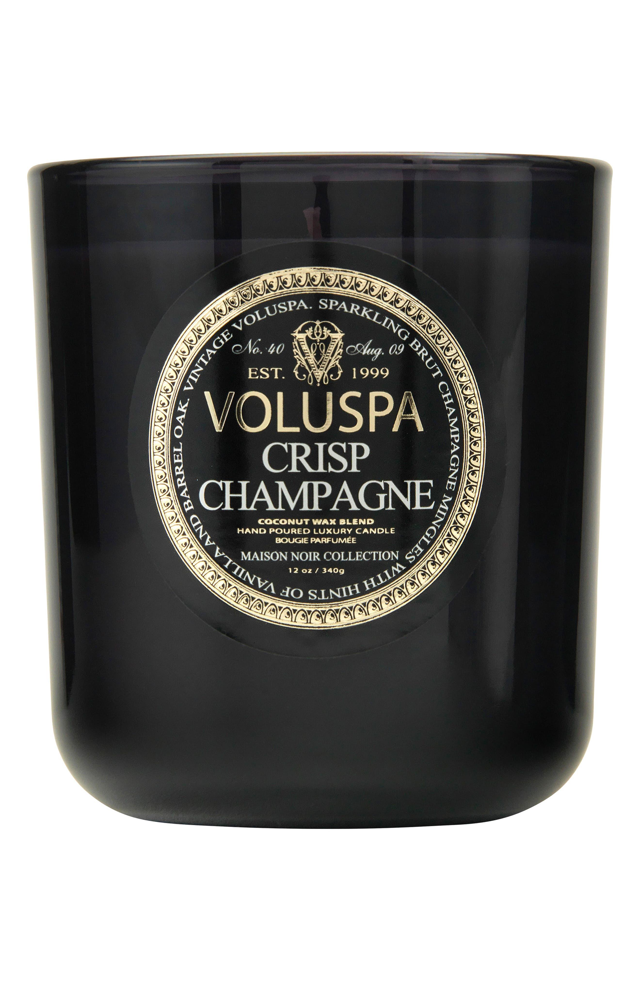 VOLUSPA, Maison Noir Crisp Champagne Classic Maison Candle, Main thumbnail 1, color, NO COLOR