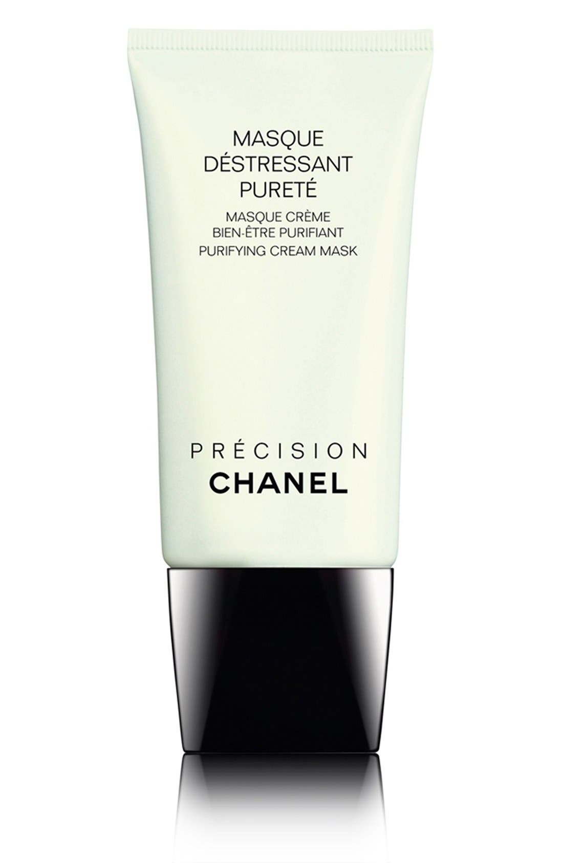 CHANEL, MASQUE DÉSTRESSANT PURETÉ Purifying Cream Mask, Main thumbnail 1, color, NO COLOR