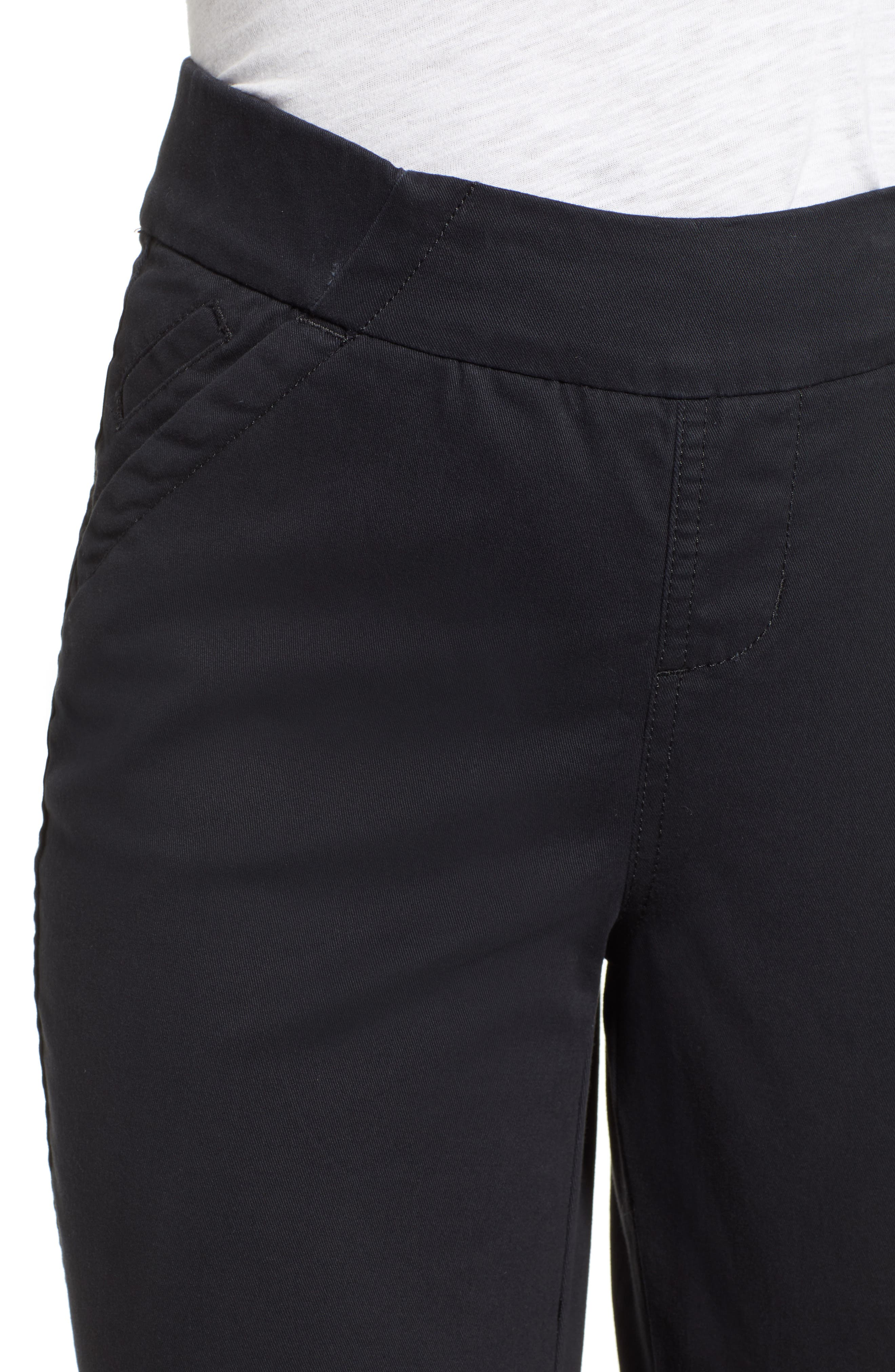 JAG JEANS, Gracie Bermuda Shorts, Alternate thumbnail 5, color, BLACK