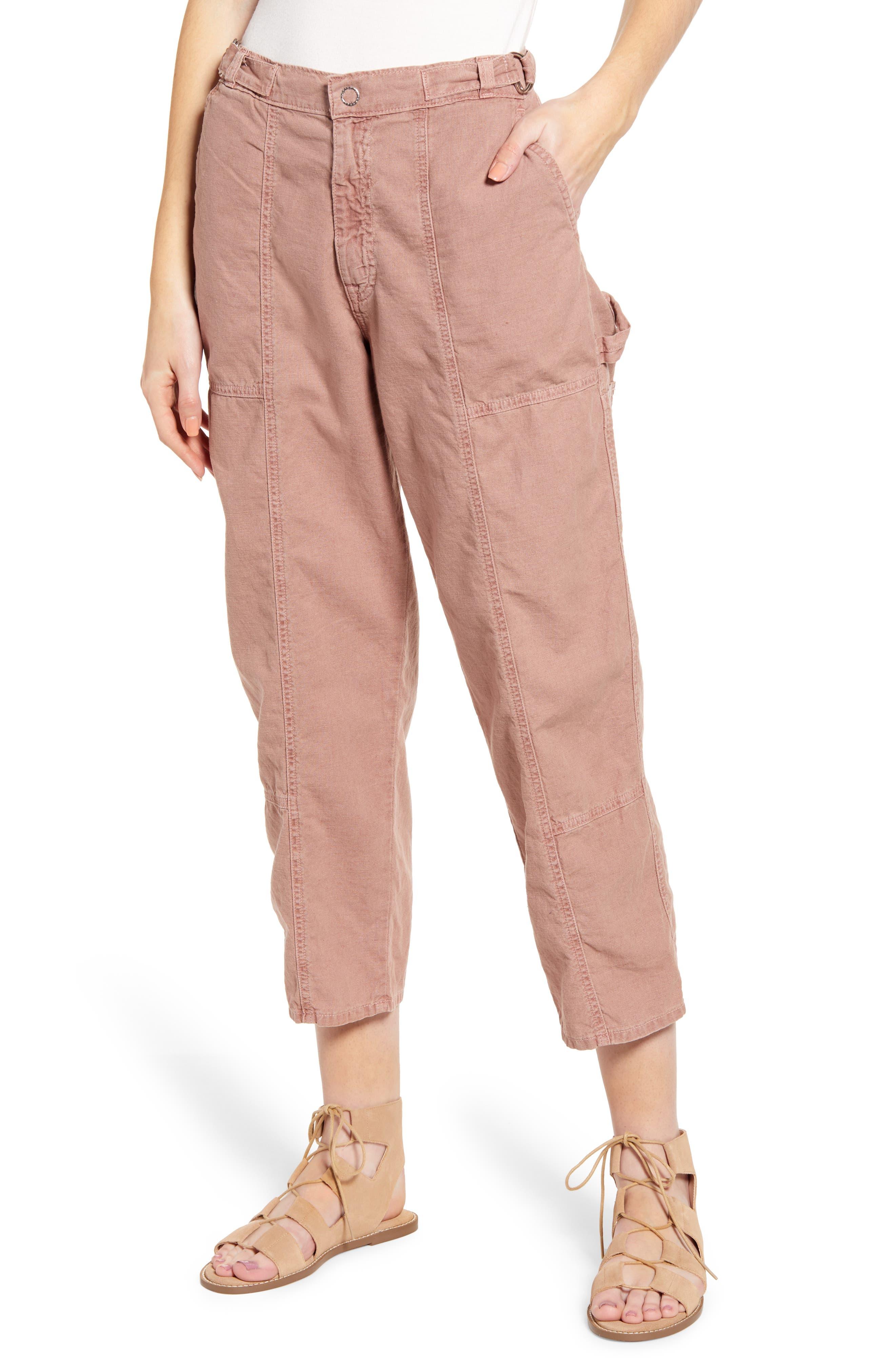 Ag Noten High Waist Crop Cargo Pants