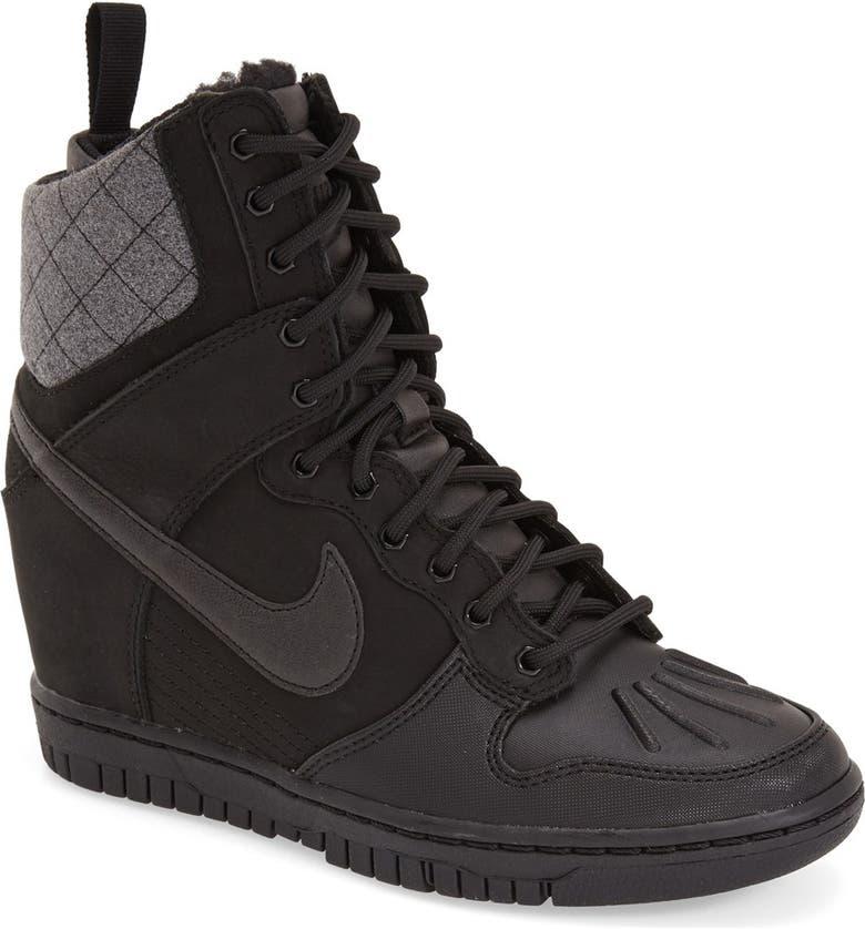 detailed look 47f16 91f01 NIKE  Dunk Sky Hi  Wedge Sneaker, Main, color, ...