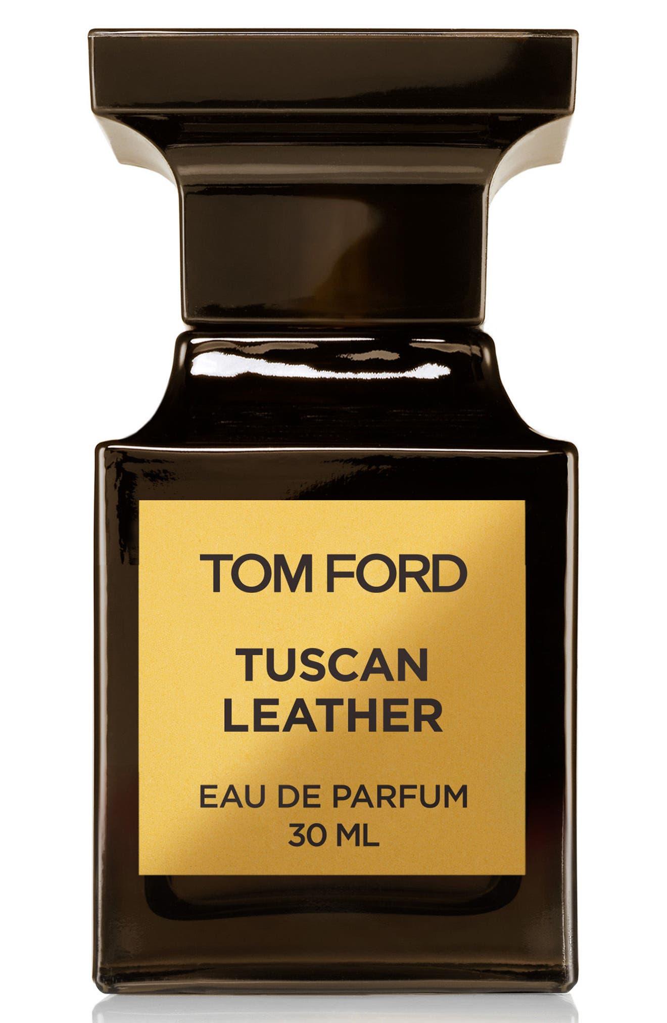 TOM FORD, Private Blend Tuscan Leather Eau de Parfum, Alternate thumbnail 3, color, NO COLOR