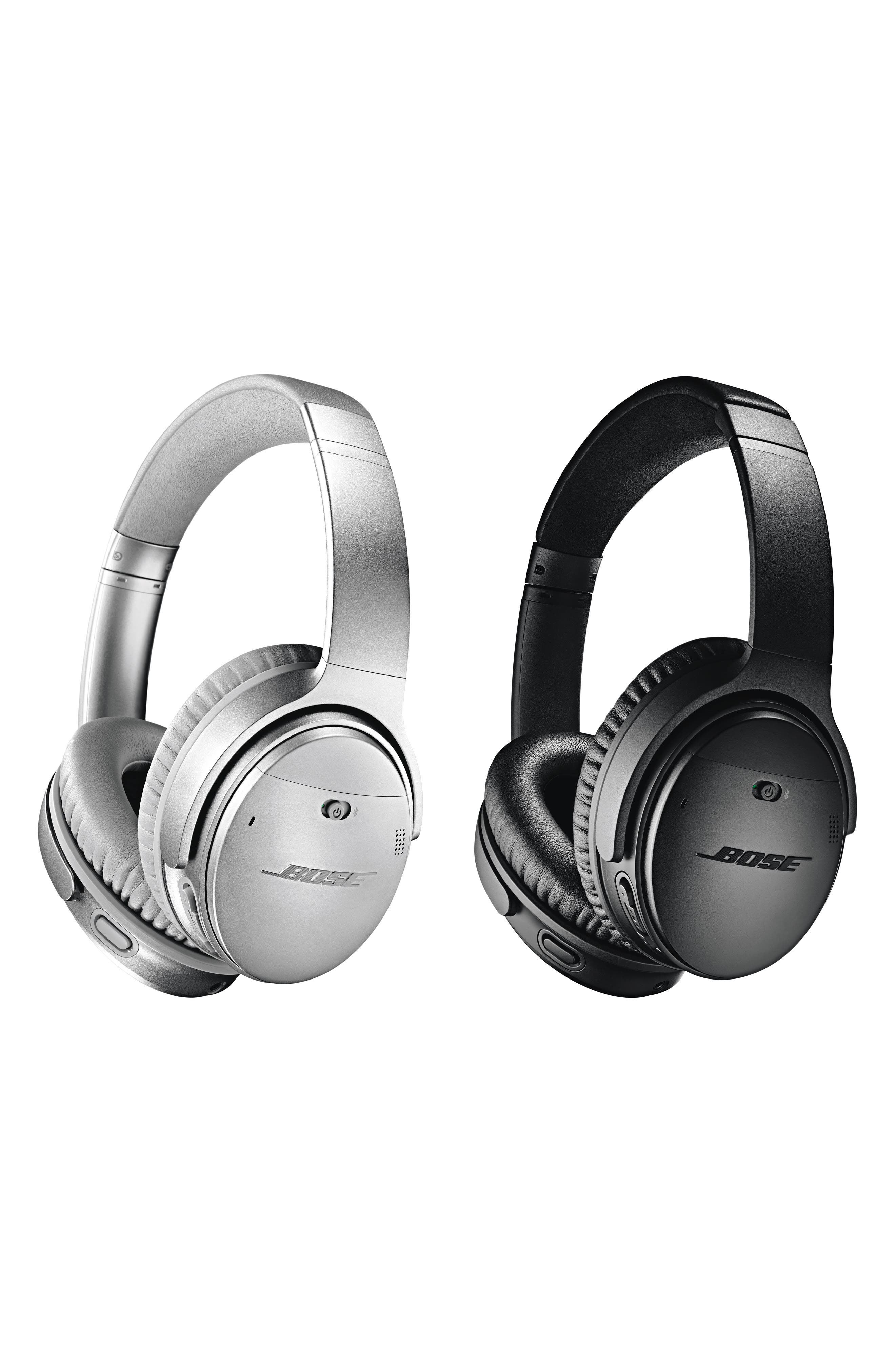 BOSE<SUP>®</SUP>, QuietComfort<sup>®</sup> 35 Wireless Headphones II with Google Assistant, Alternate thumbnail 4, color, BLACK