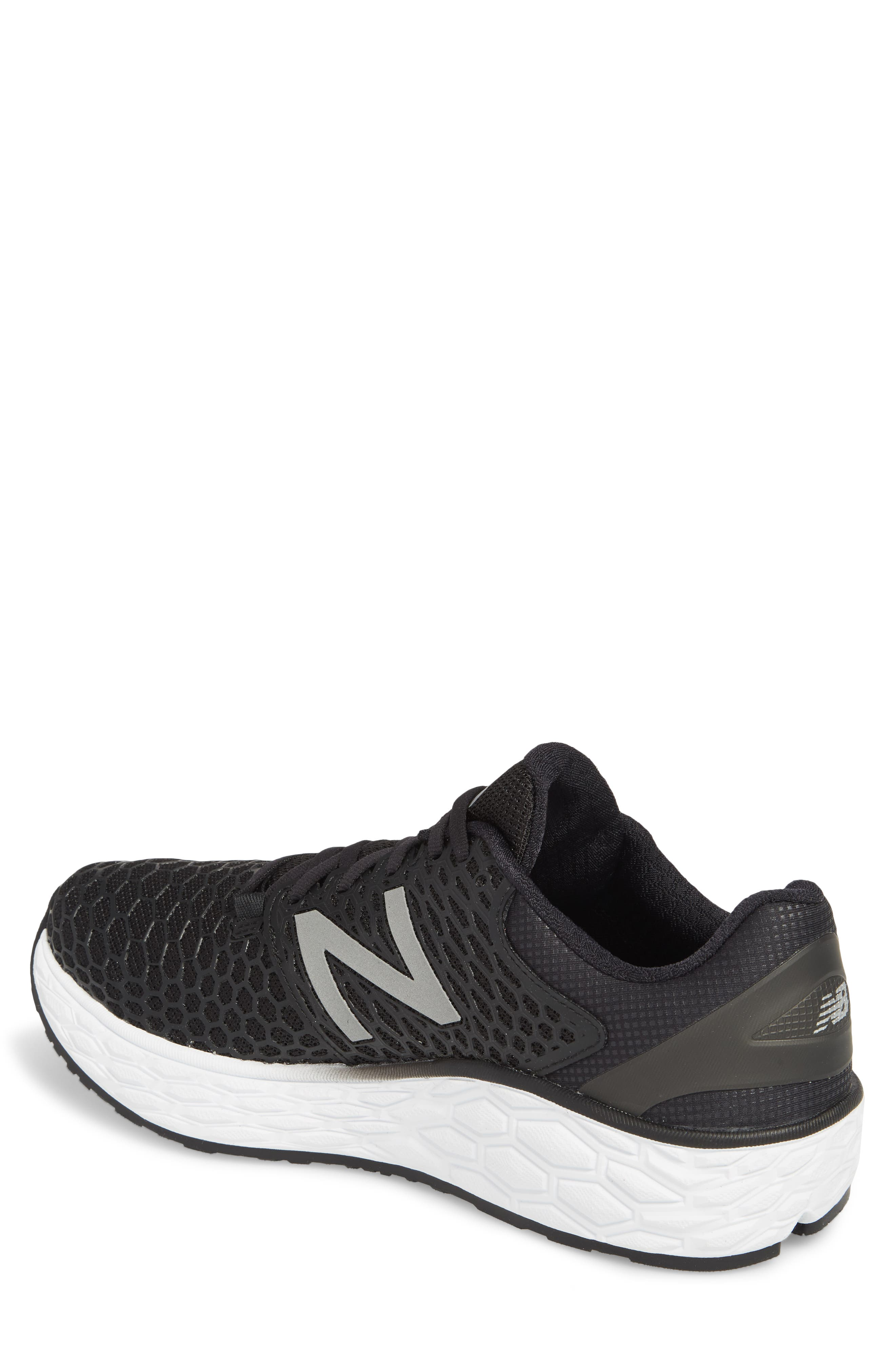 NEW BALANCE, Fresh Foam Vongo v3 Running Shoe, Alternate thumbnail 2, color, BLACK