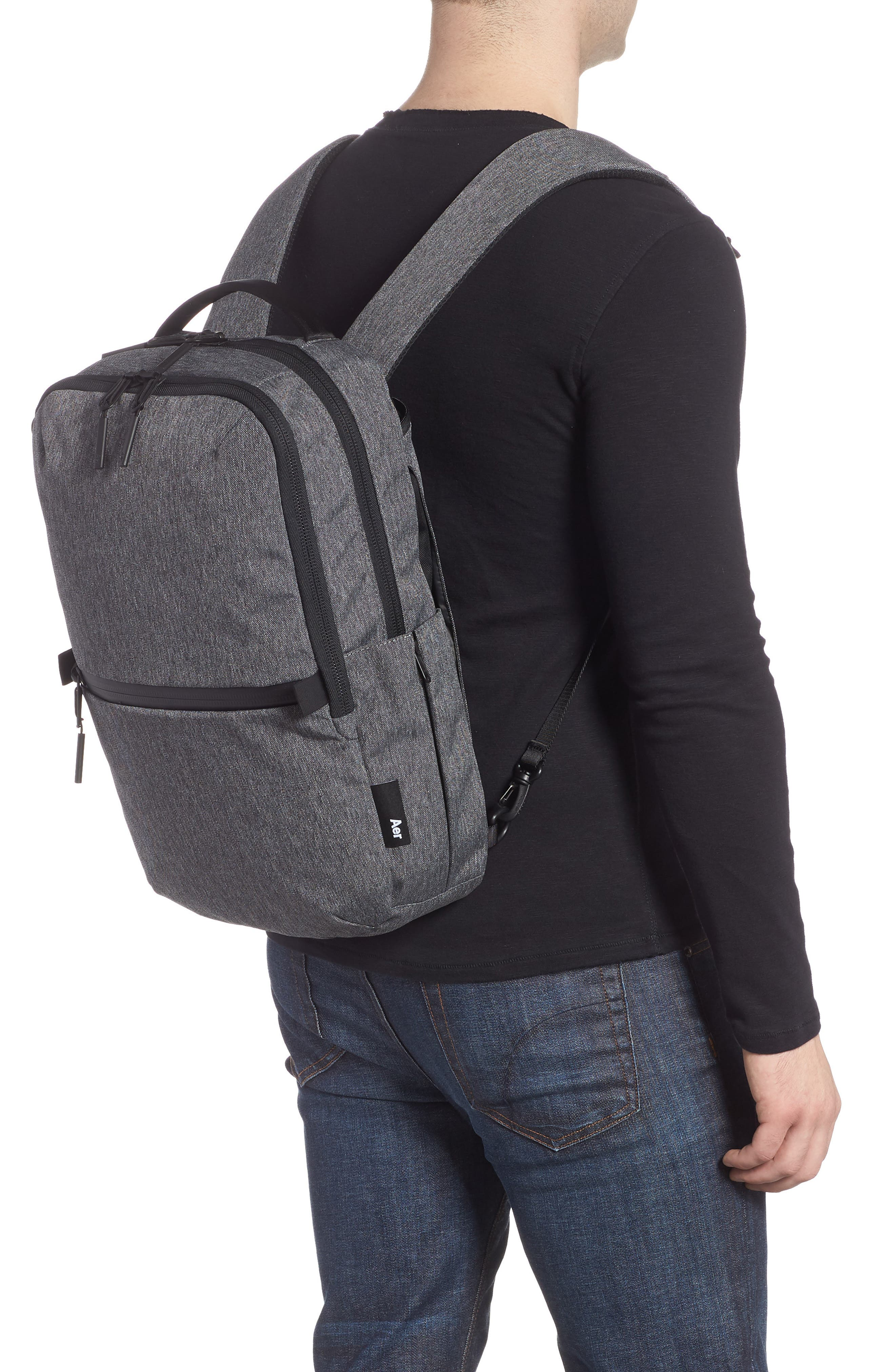 AER, Flight Pack 2 Backpack, Alternate thumbnail 3, color, GREY