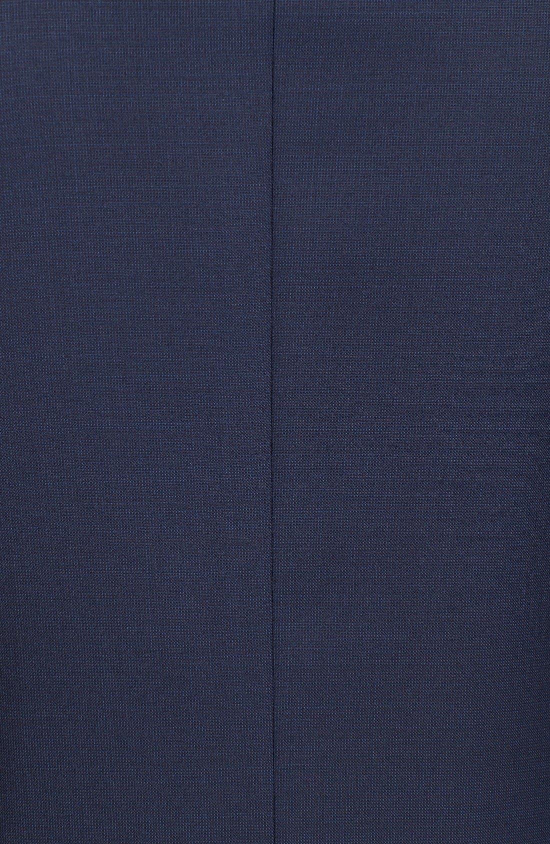 TED BAKER LONDON, Trevi Slim Fit Wool Blazer, Alternate thumbnail 11, color, NAVY