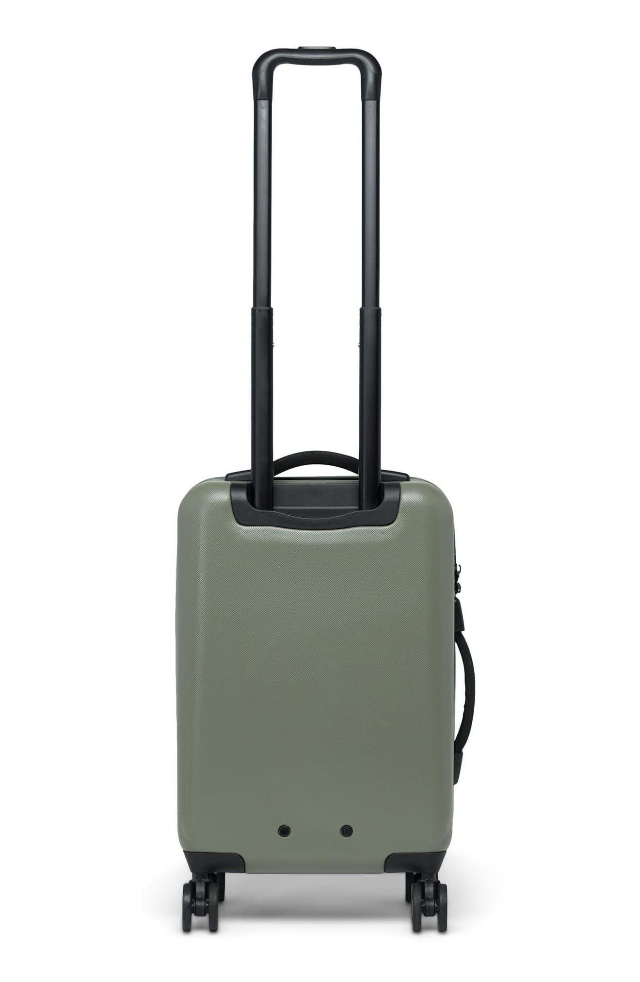 HERSCHEL SUPPLY CO., Small Trade 23-Inch Rolling Suitcase, Alternate thumbnail 4, color, OLIVE NIGHT