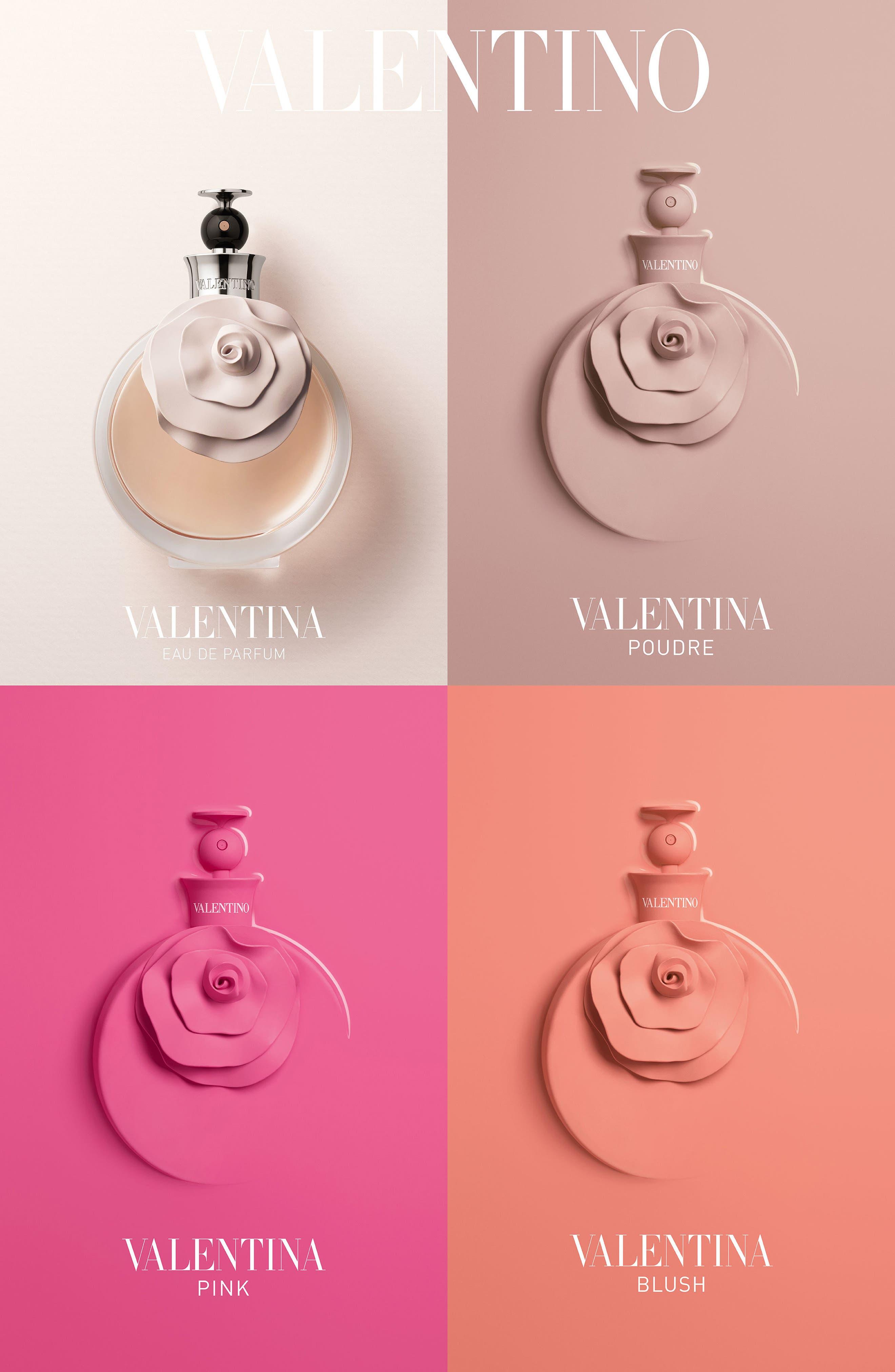 VALENTINO, Valentina Blush Eau de Parfum, Alternate thumbnail 3, color, 000