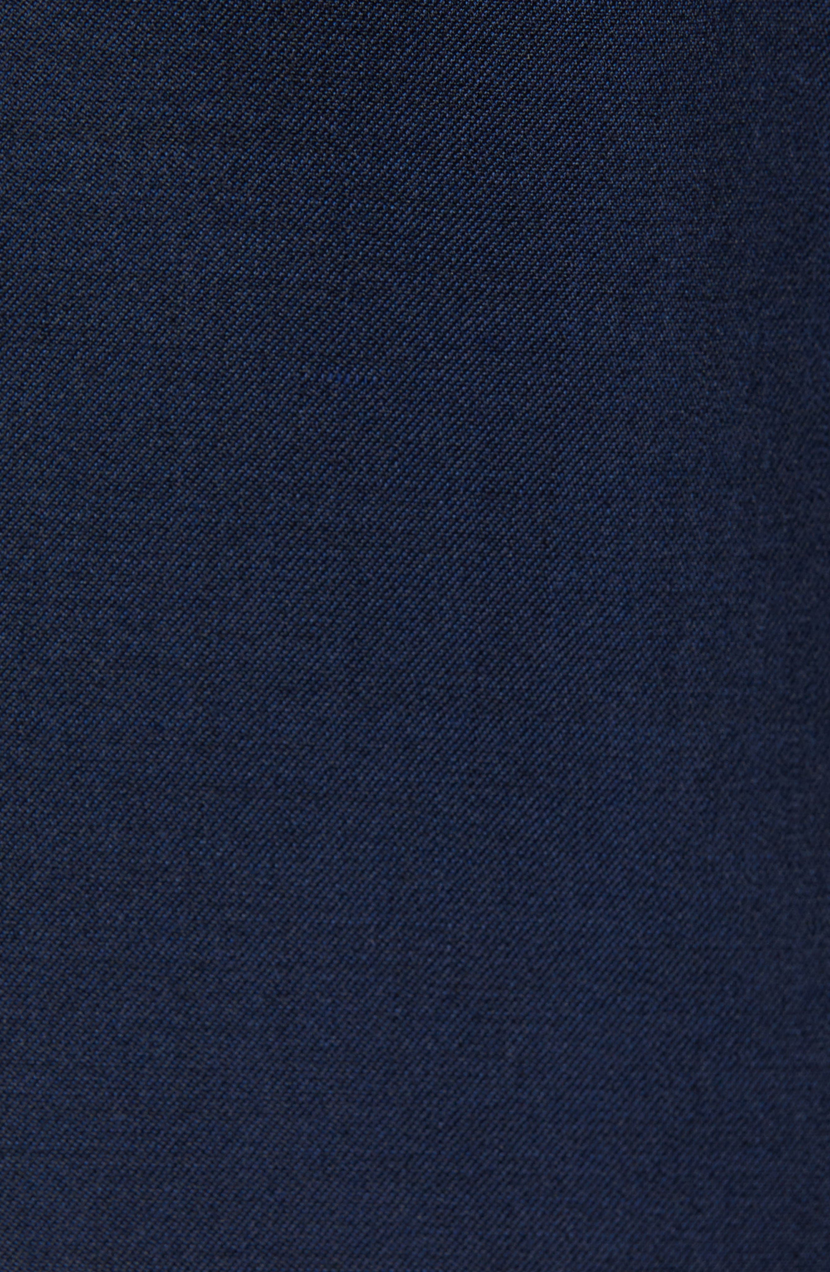 CALIBRATE, Extra Trim Fit Shawl Dinner Jacket, Alternate thumbnail 6, color, HIGH BLUE