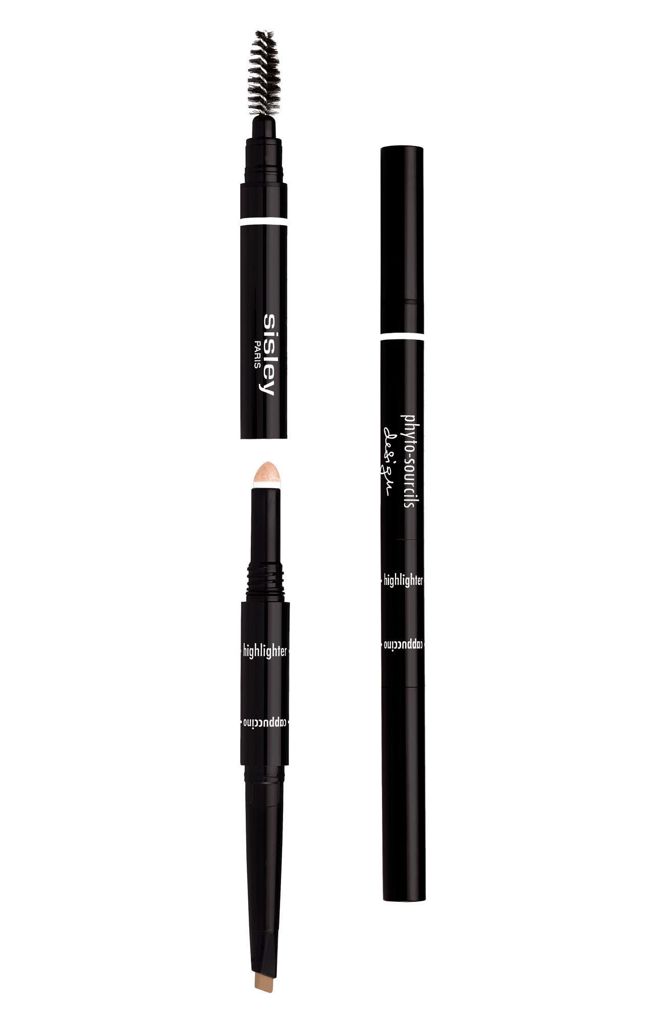 SISLEY PARIS, Phyto-Sourcils Design 3-in-1 Eyebrow Pencil, Main thumbnail 1, color, CAPPUCINO
