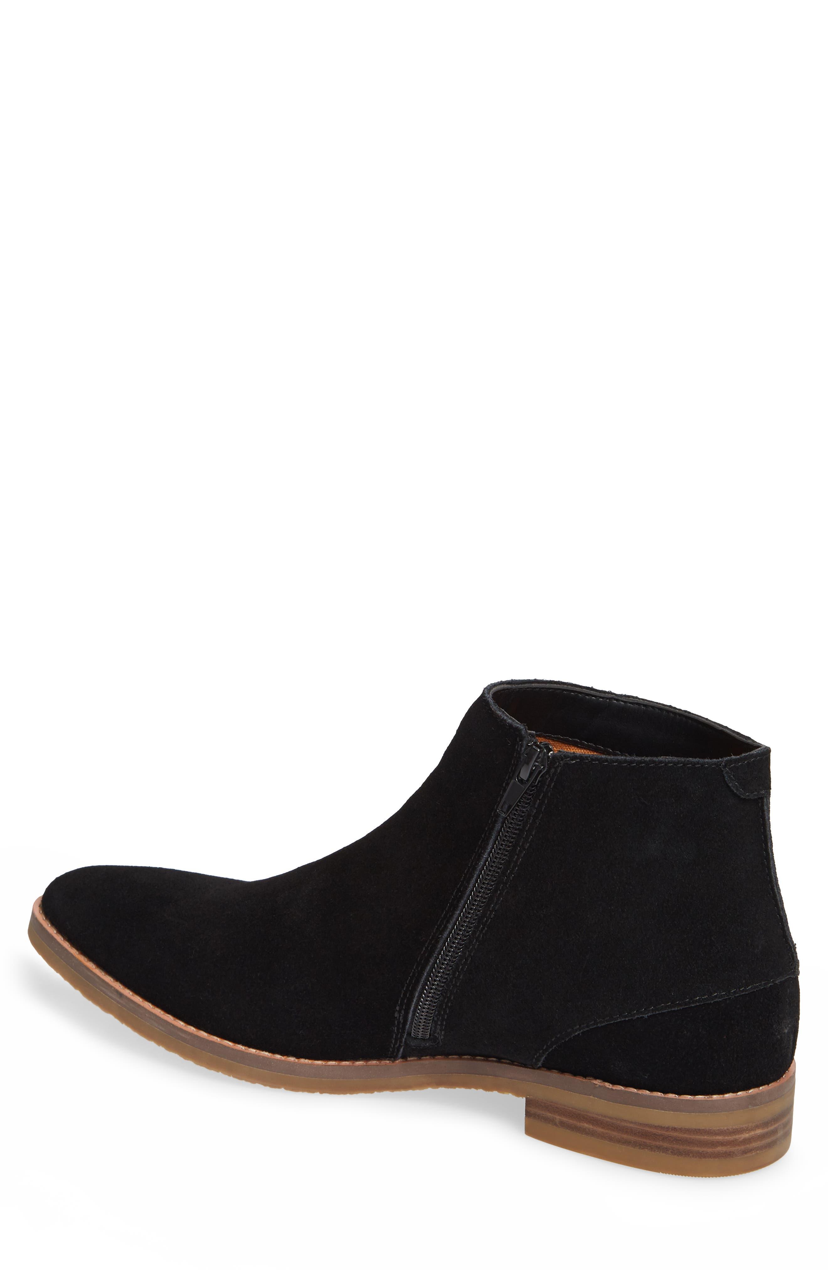 JUMP, Brighton Chelsea Zip Boot, Alternate thumbnail 2, color, BLACK