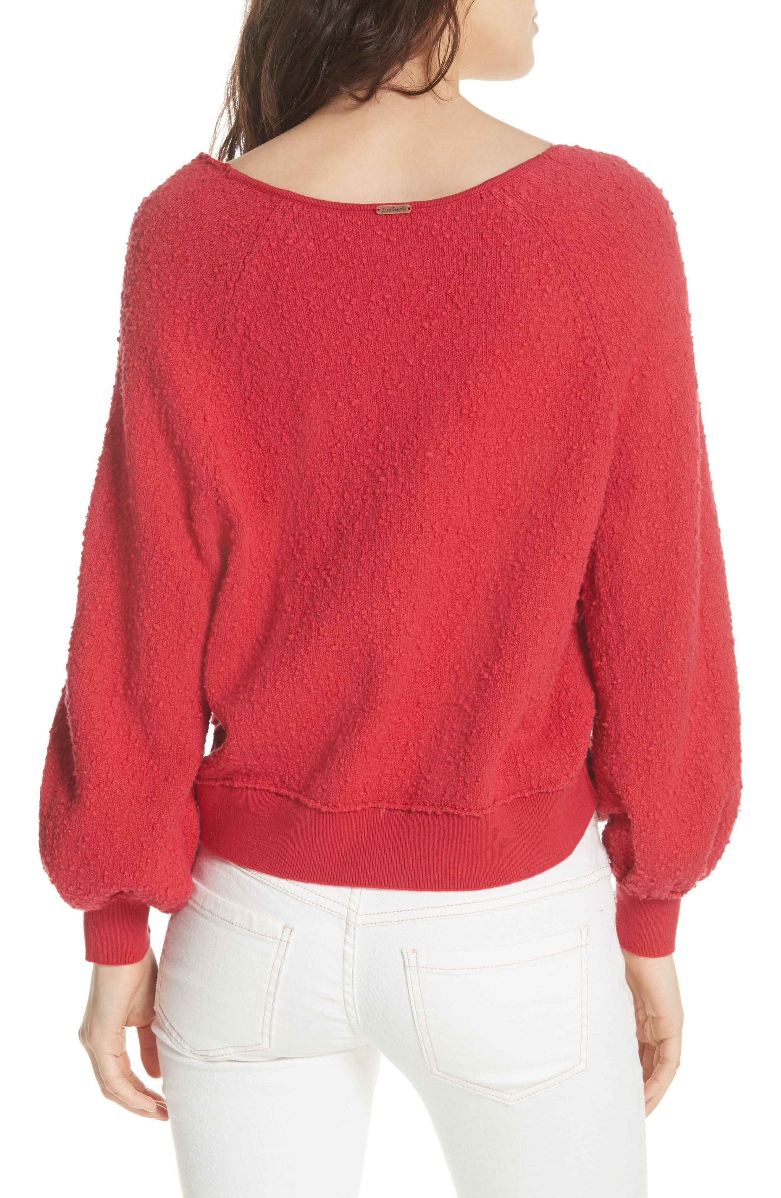 FREE PEOPLE, Found My Friend Sweater, Alternate thumbnail 2, color, 600