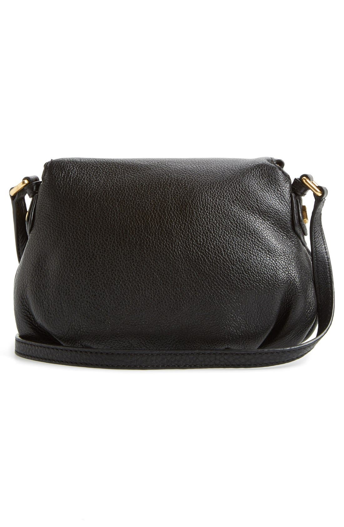 MARC JACOBS, MARC BY MARC JACOBS 'Classic Q Natasha - Mini' Crossbody Flap Bag, Alternate thumbnail 6, color, 001