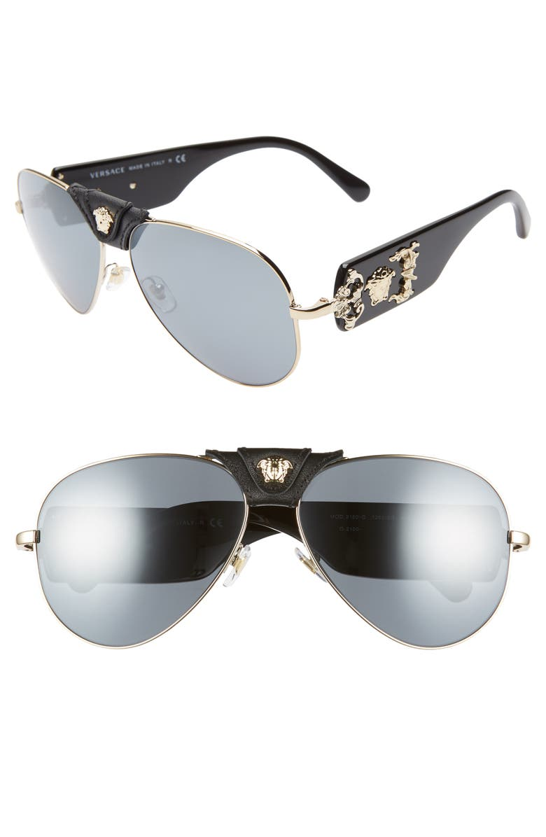8e9fa7106eef Versace 62mm Aviator Sunglasses