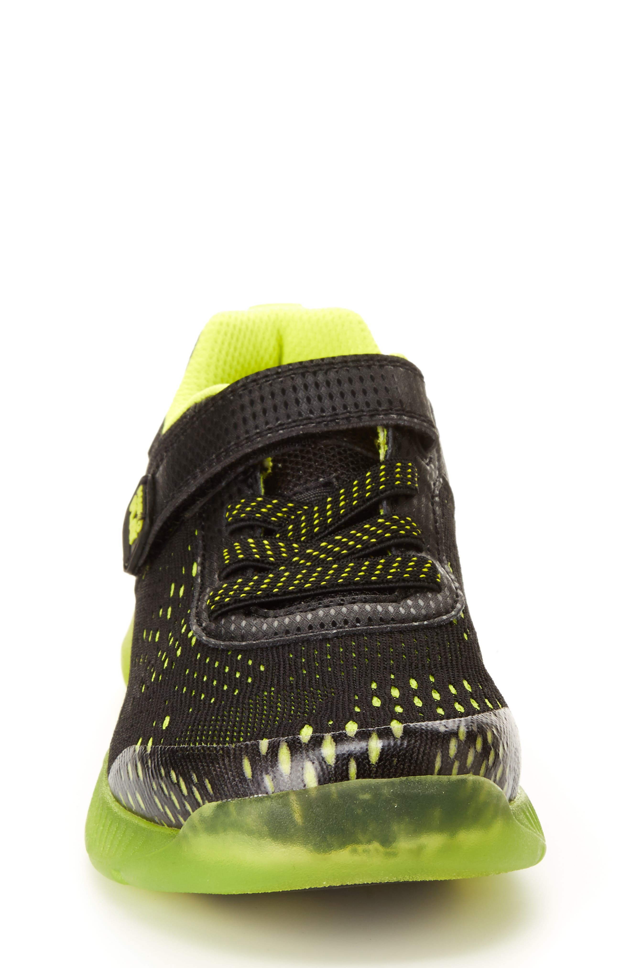 STRIDE RITE, Made2Play<sup>®</sup> Neo Light-Up Sneaker, Alternate thumbnail 9, color, 002