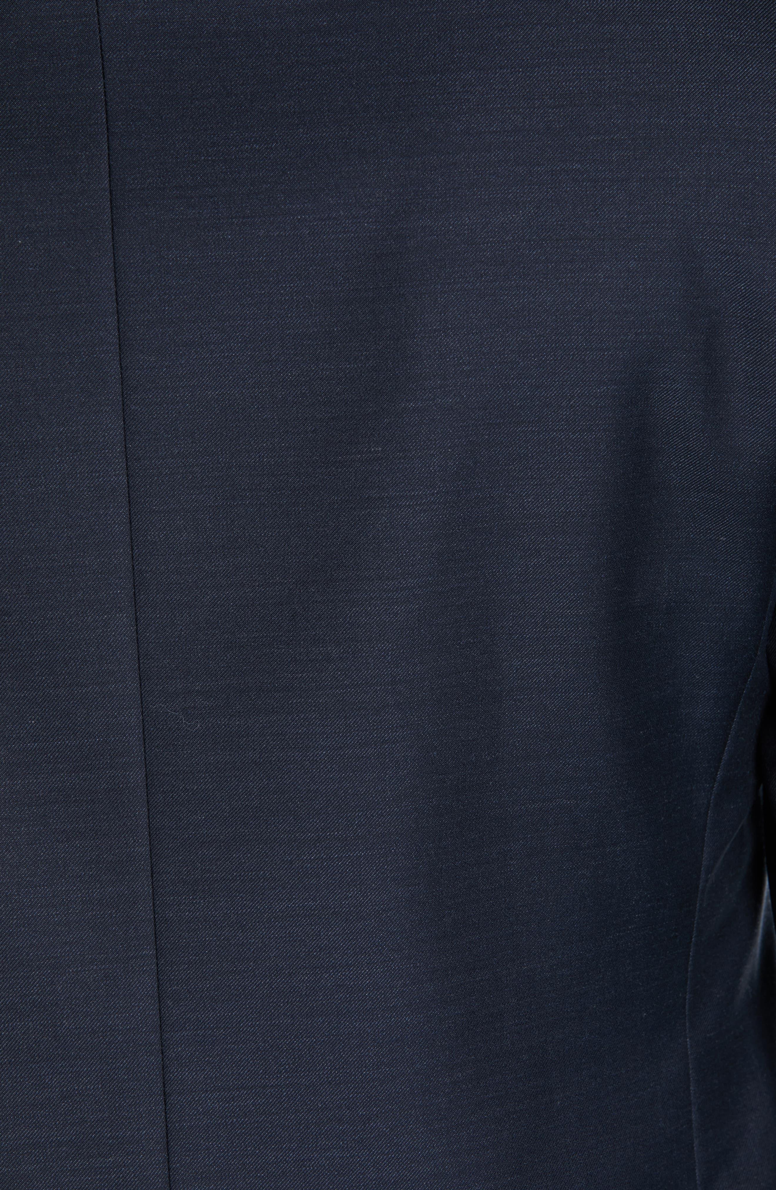 CANALI, Venieza Classic Fit Wool Tuxedo, Alternate thumbnail 7, color, NAVY