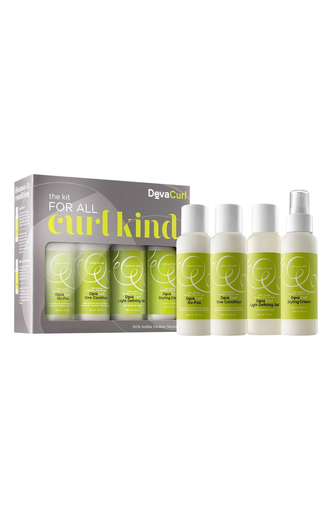 DEVACURL, 'The Kit for All Curl Kind' Set, Alternate thumbnail 2, color, NO COLOR