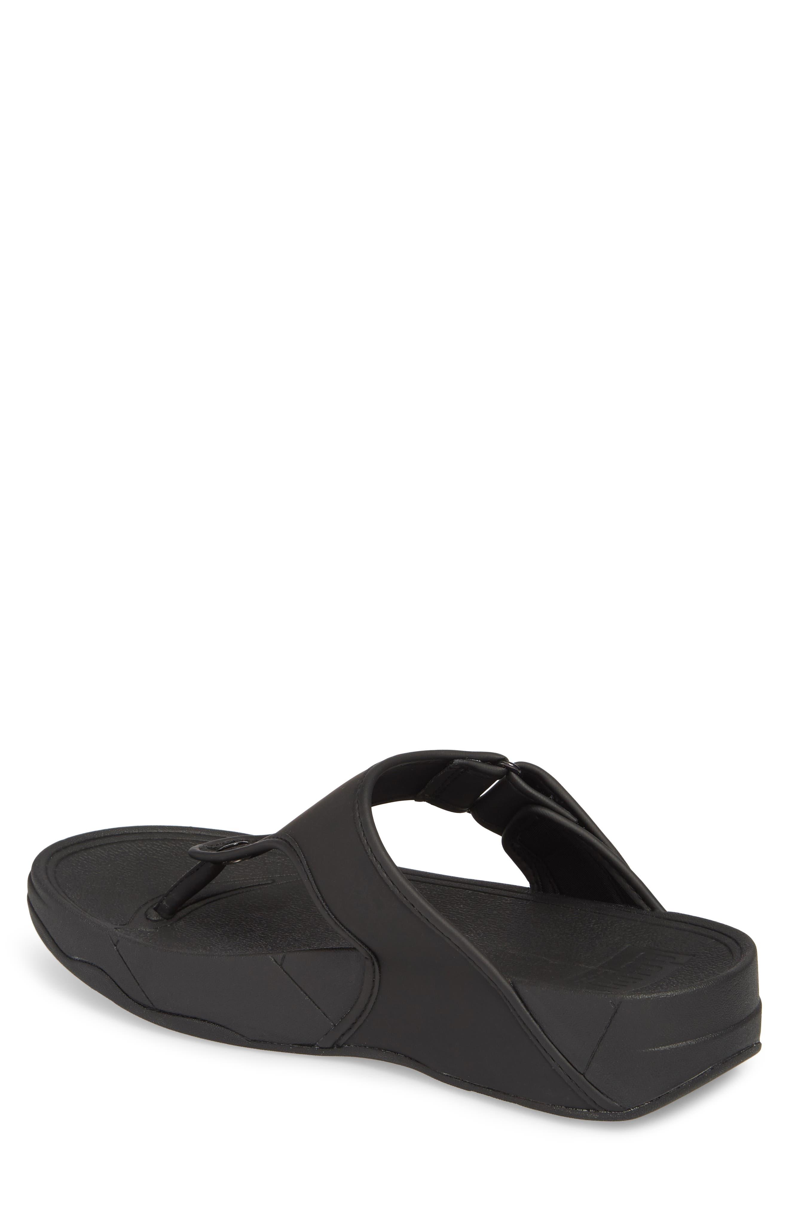 FITFLOP, Trakk<sup>™</sup> II Sandal, Alternate thumbnail 2, color, BLACK NEOPRENE