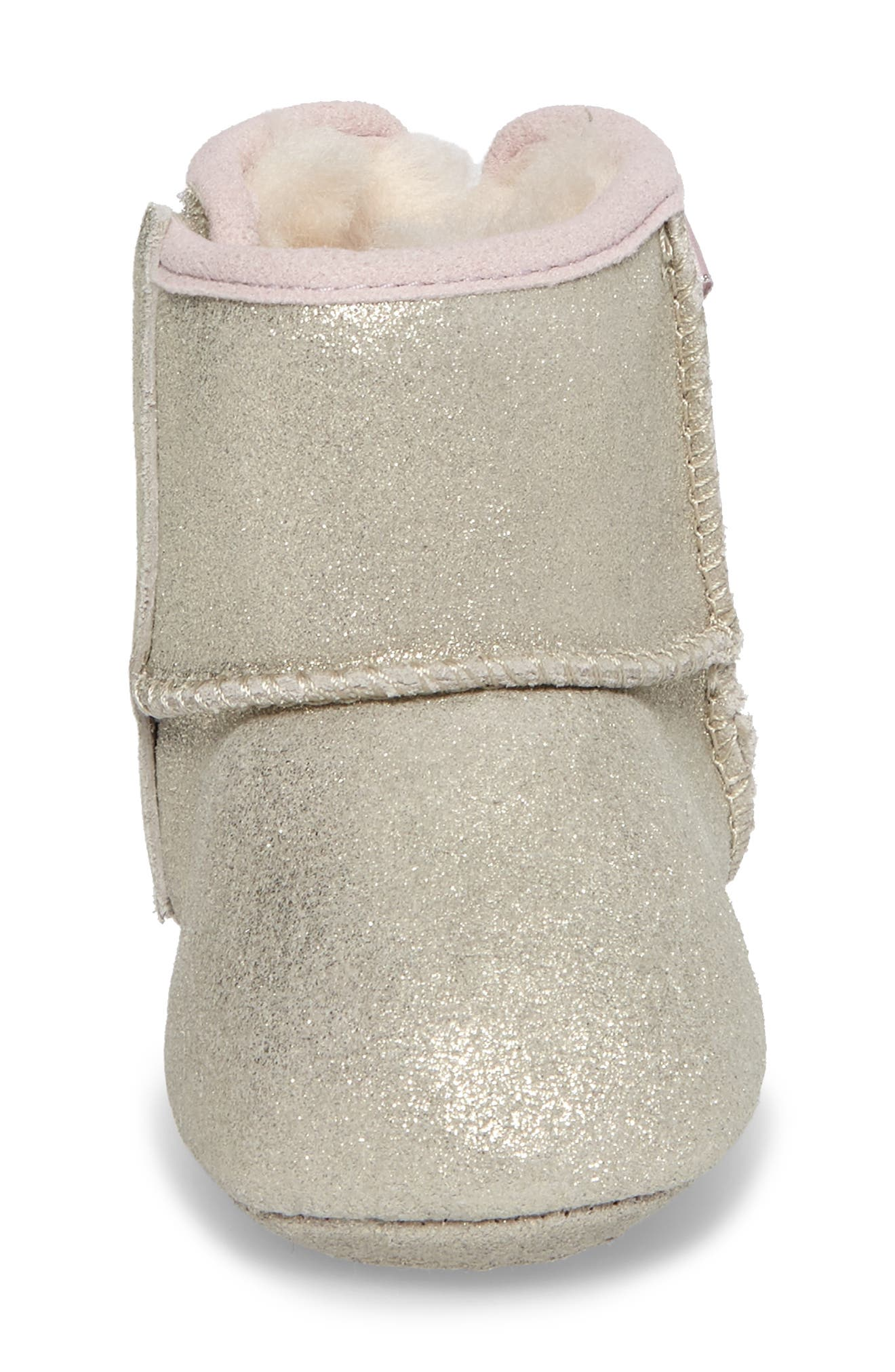 UGG<SUP>®</SUP>, Jesse Bow II Metallic Bootie, Alternate thumbnail 4, color, GOLD