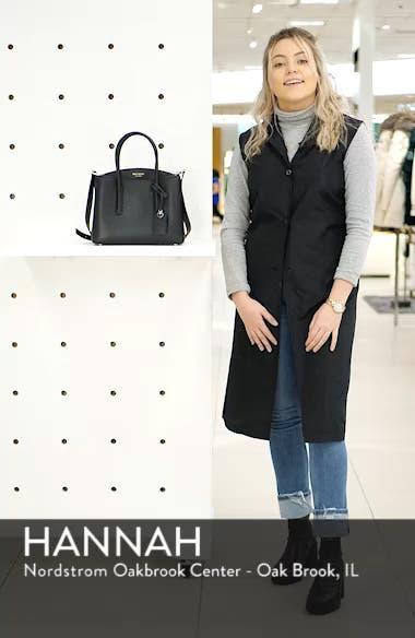 medium margaux leather satchel, sales video thumbnail