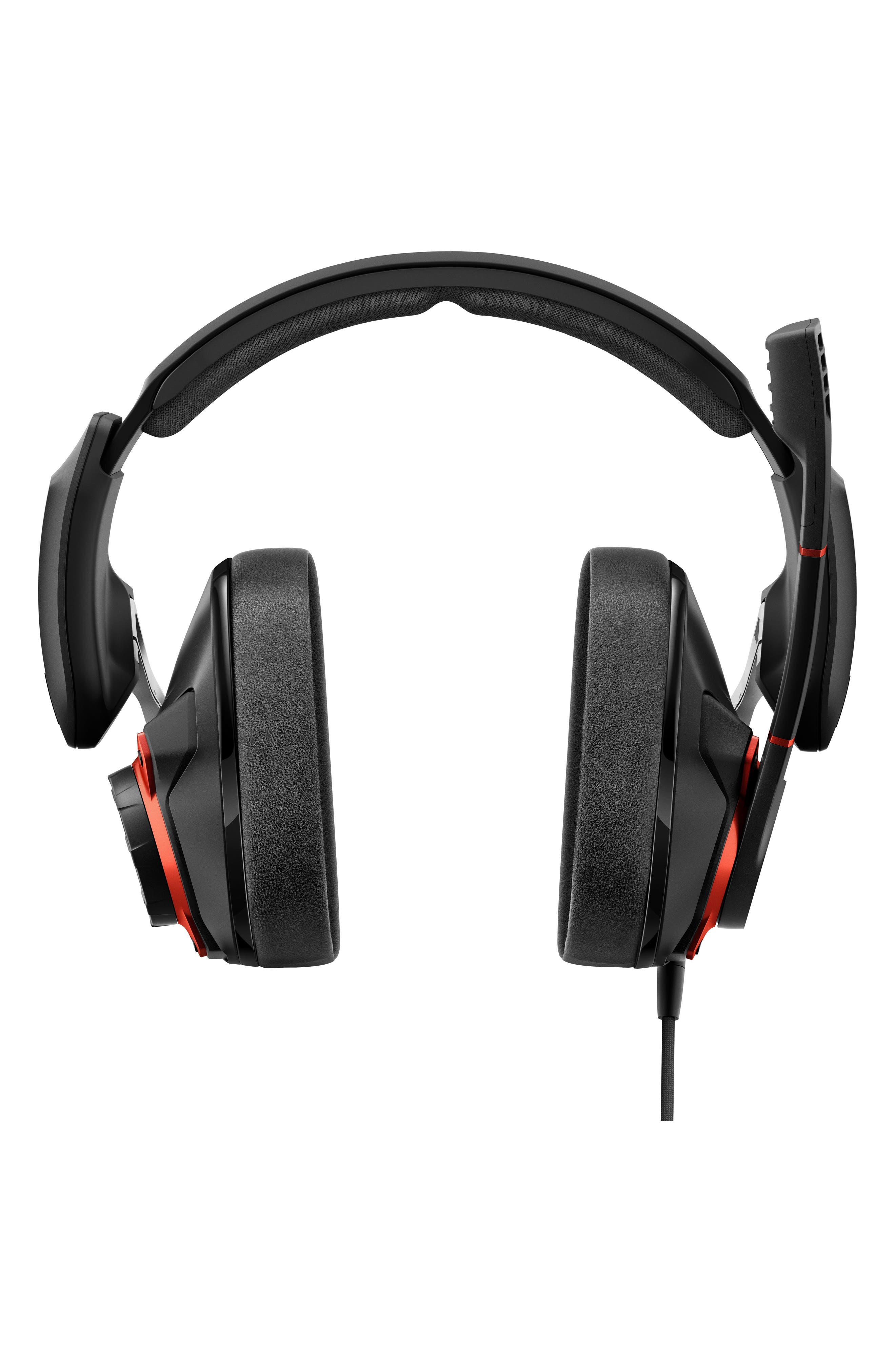 SENNHEISER, GSP 600 Noise Cancelling Gaming Headset, Main thumbnail 1, color, BLACK/ ORANGE